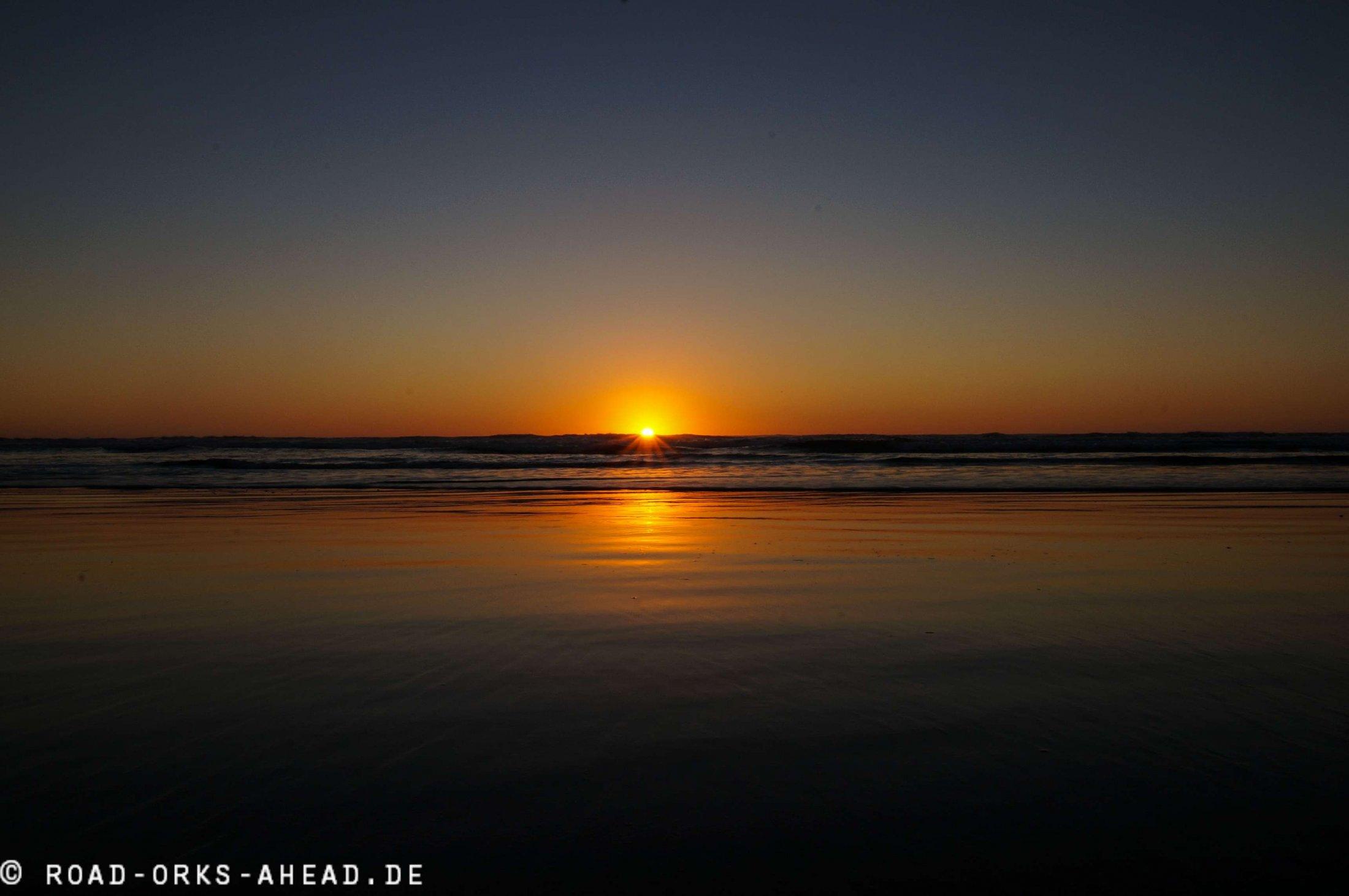 Cannon Beach am Abend