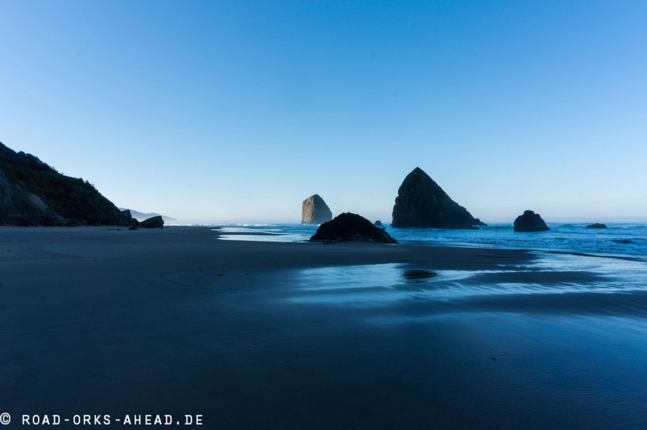 Cannon Beach am Morgen