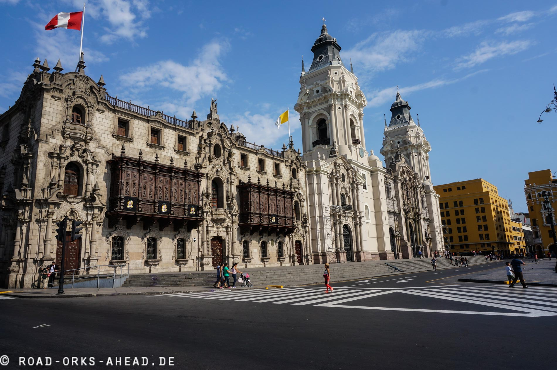 Koloniale Gebäude sind sehr cool!
