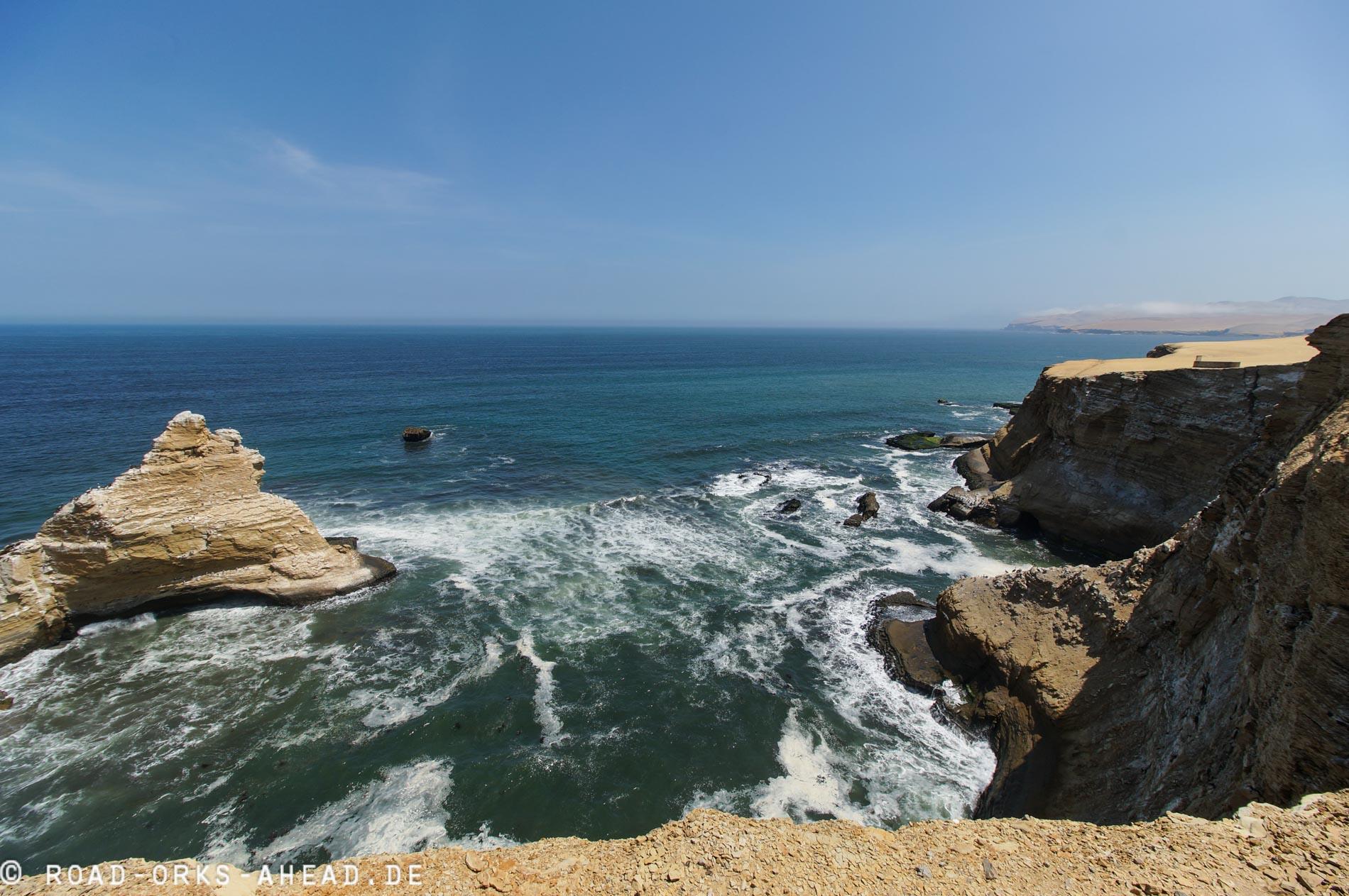 Noch mehr Paracas Steilklippen