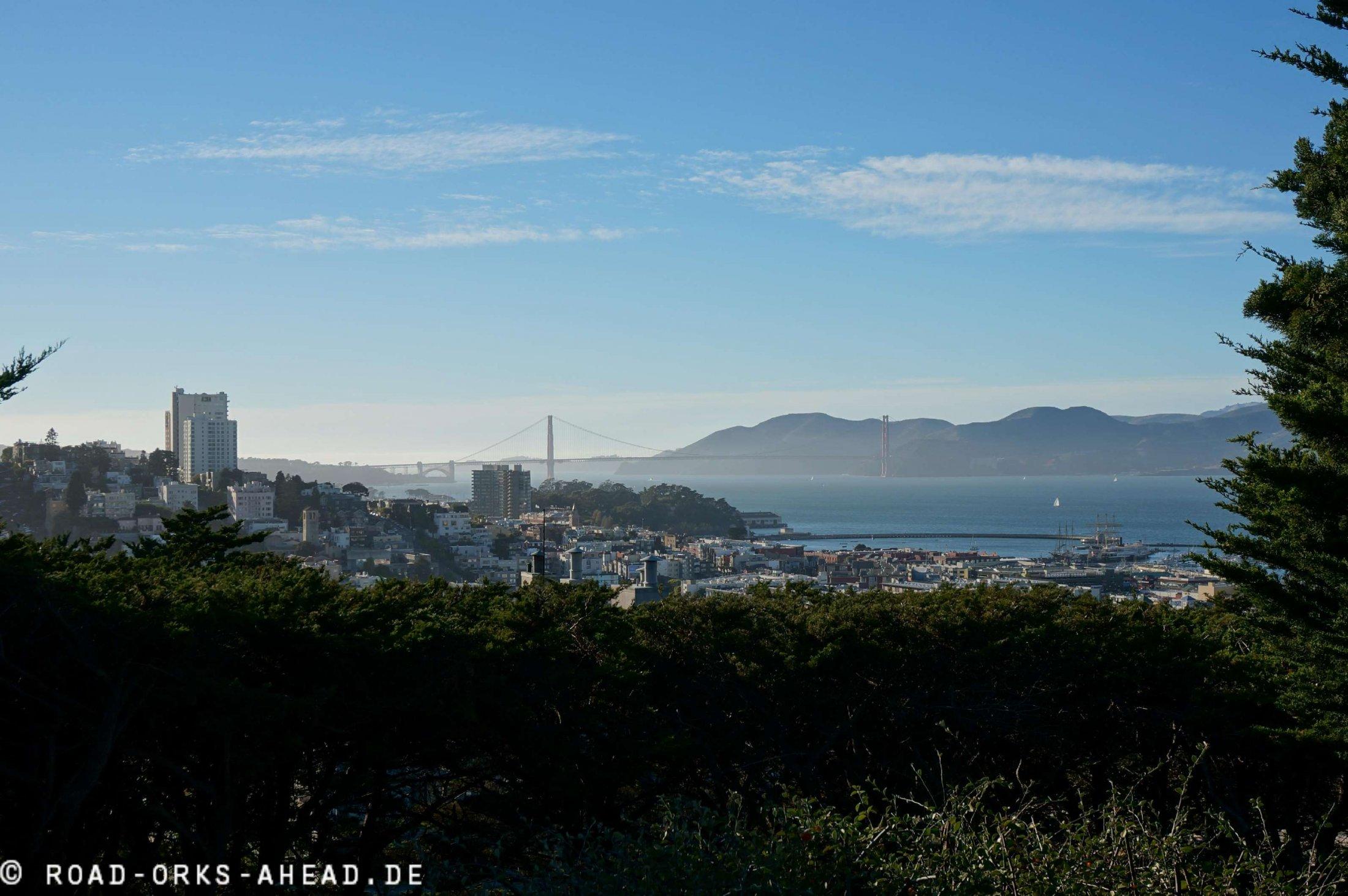 Blick vom Telegraph Hill