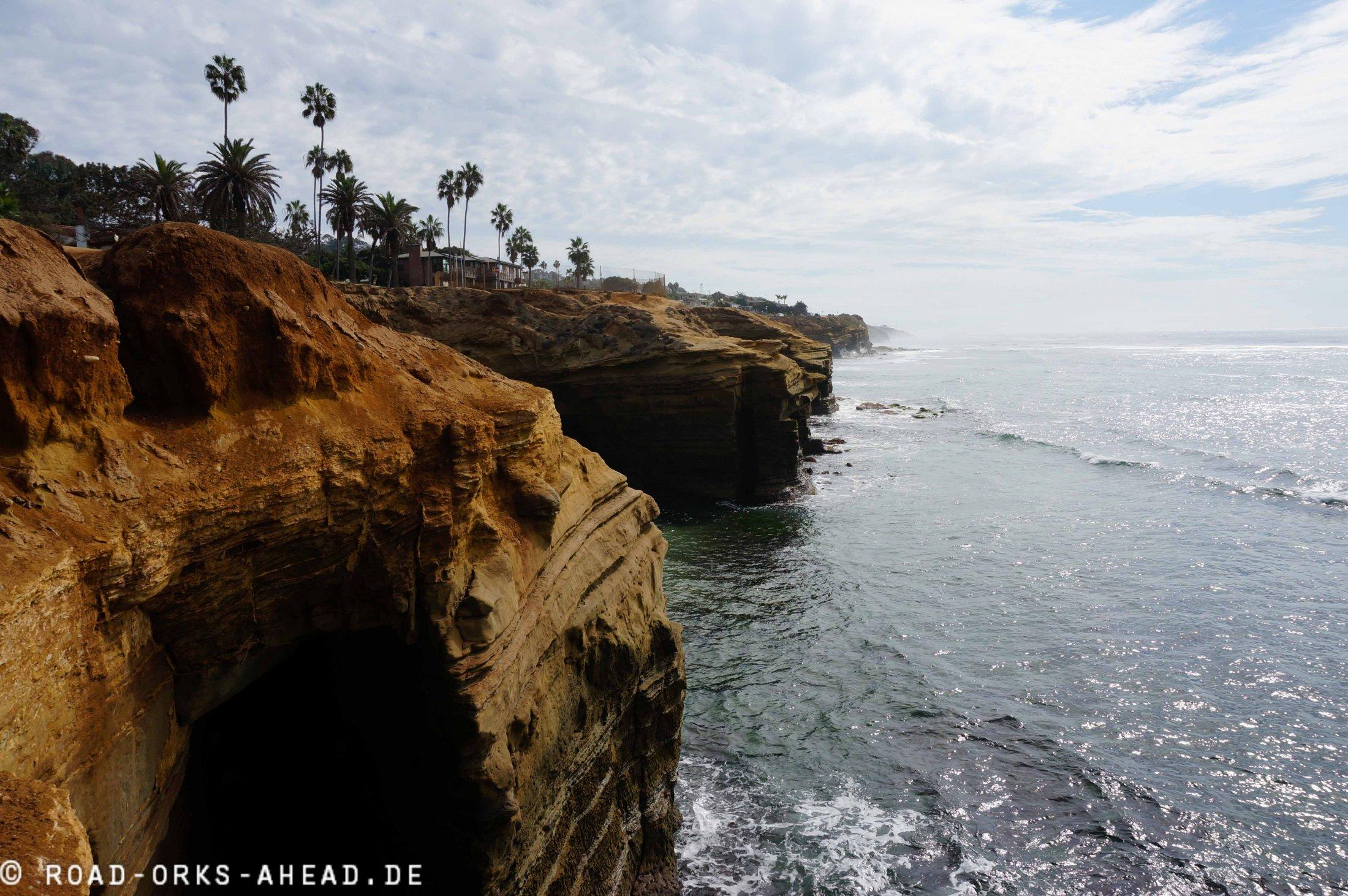 La Jolla Steilküste