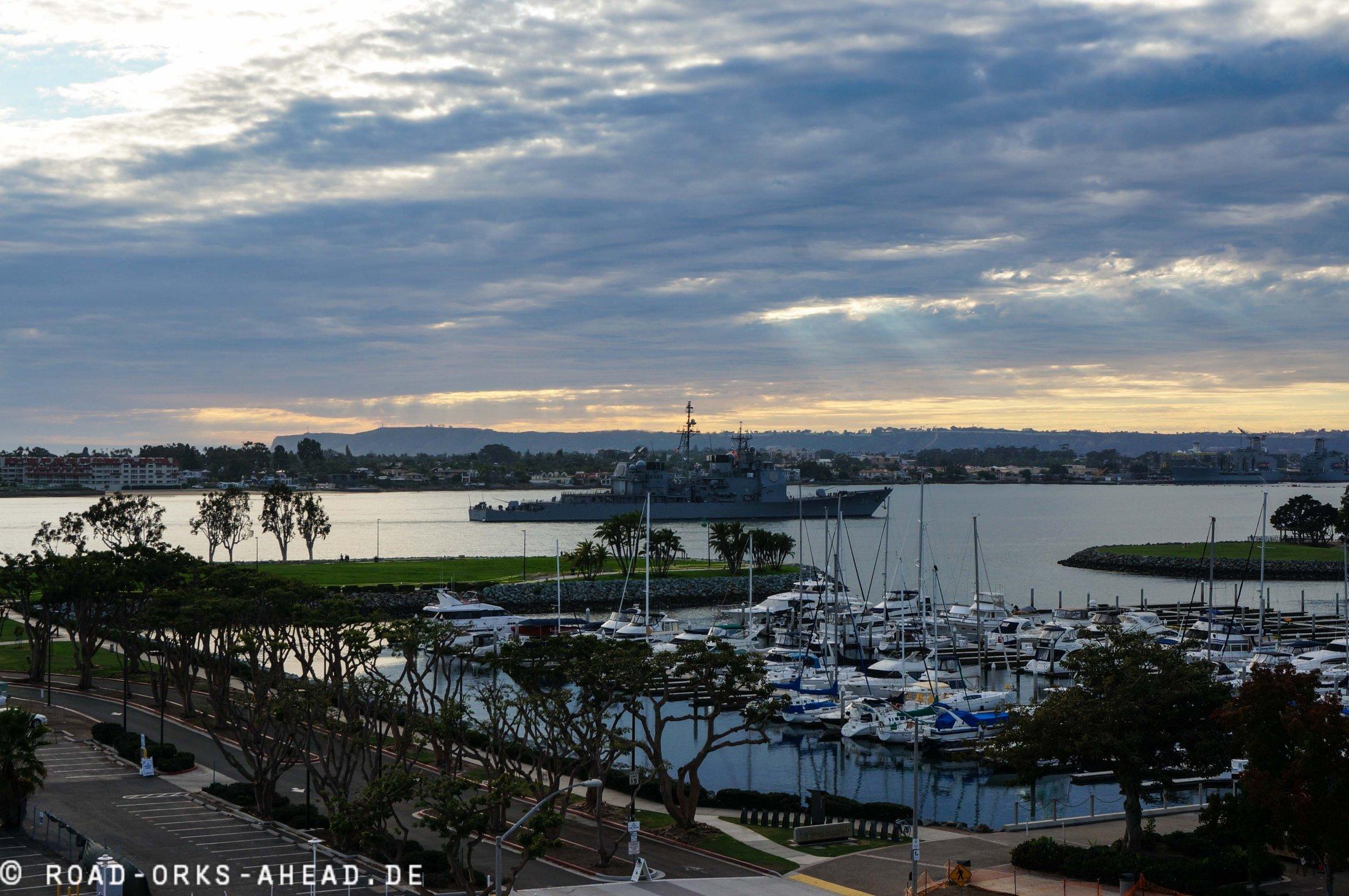 San Diego Hafen