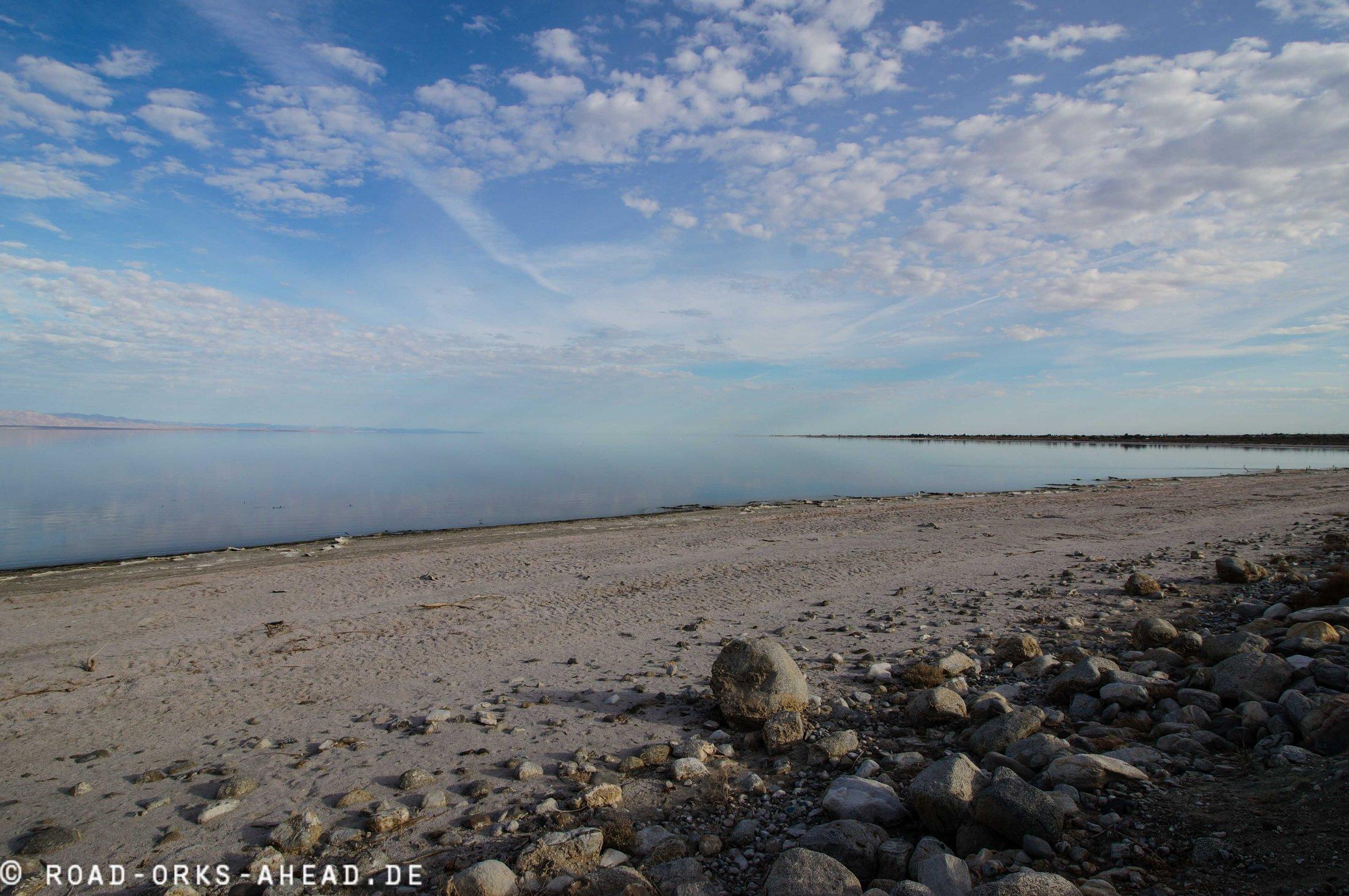 Der größte See Kaliforniens