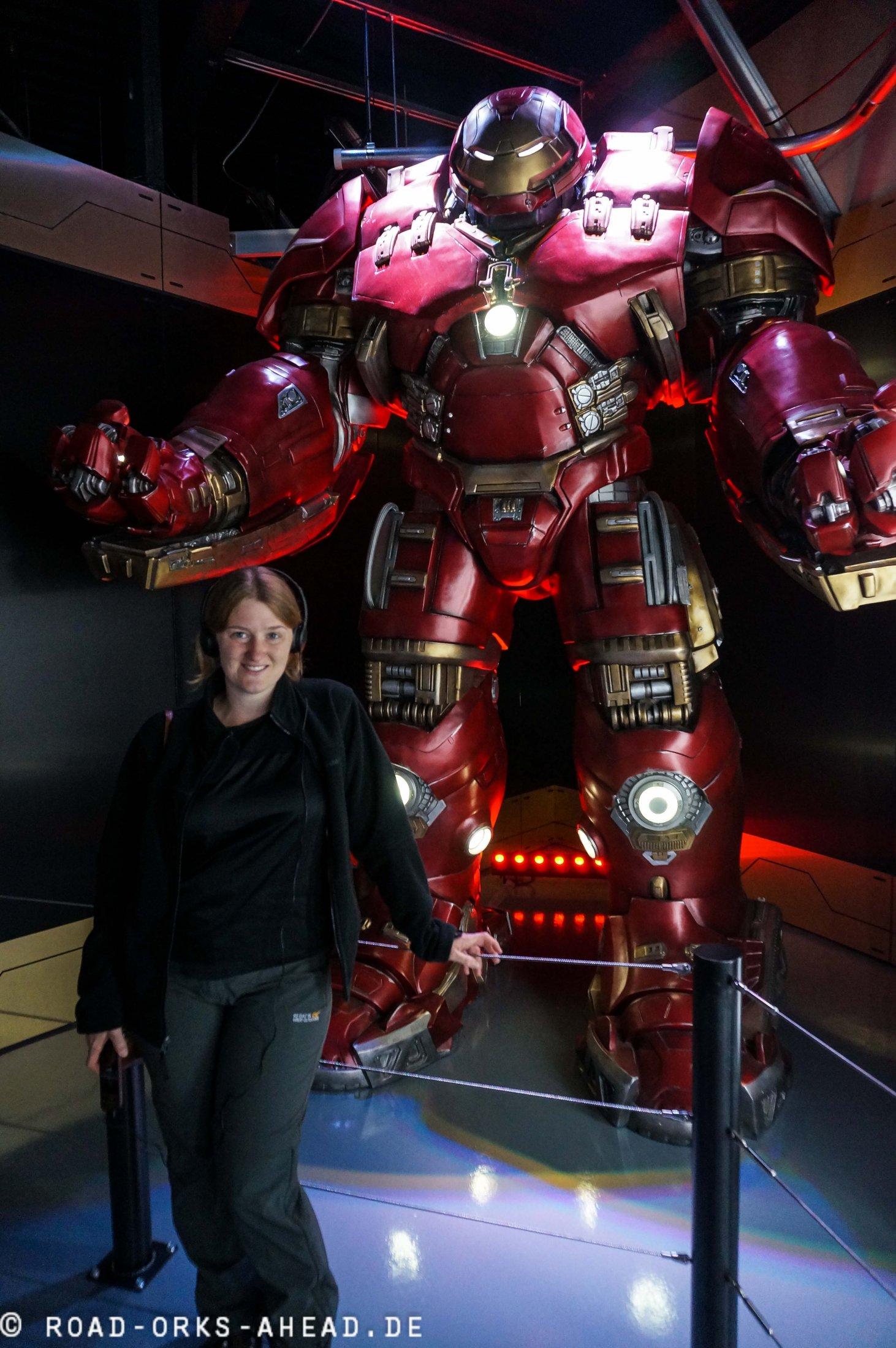 Iron Man und Natalie