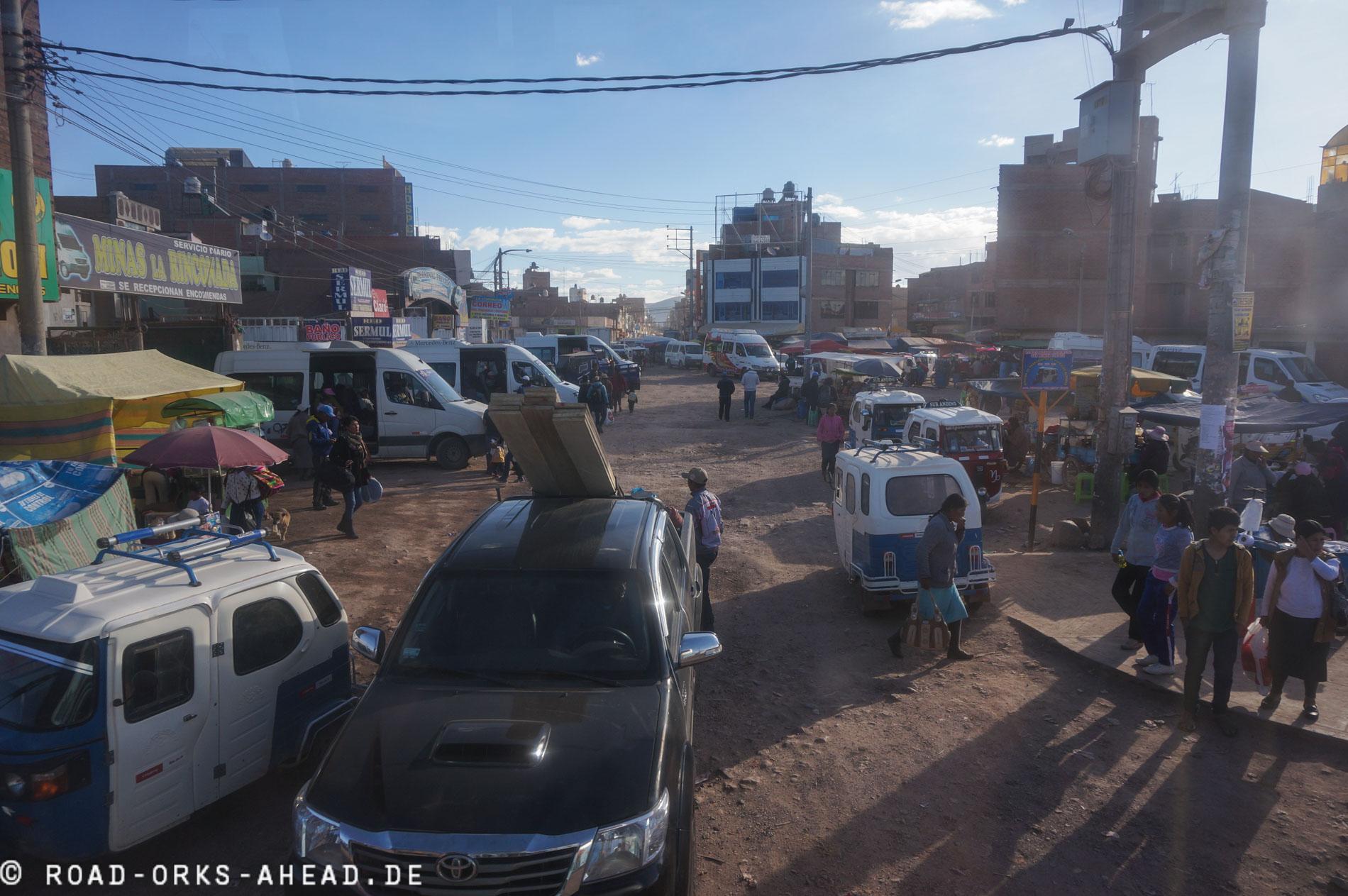 Südamerikanisches Chaos, ähhm Ordnung