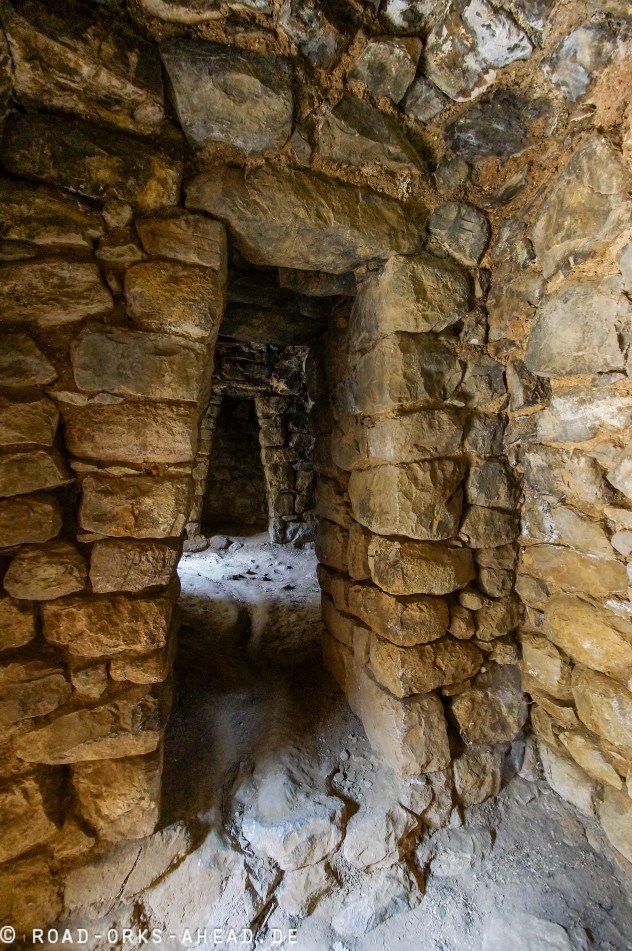 In den Inka Ruinen