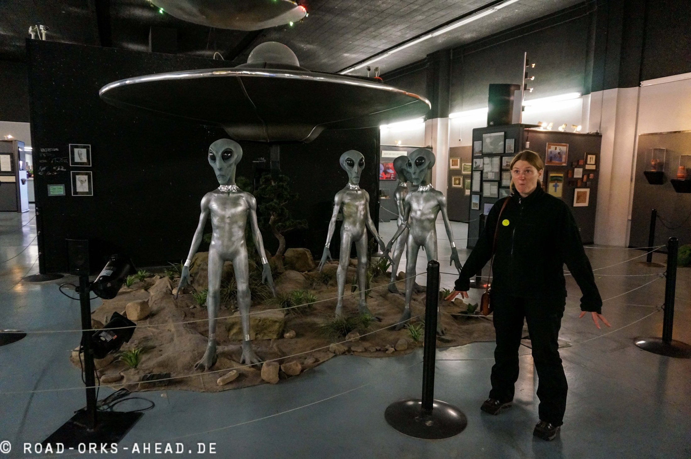 Aliens in Roswell! Moment einer...