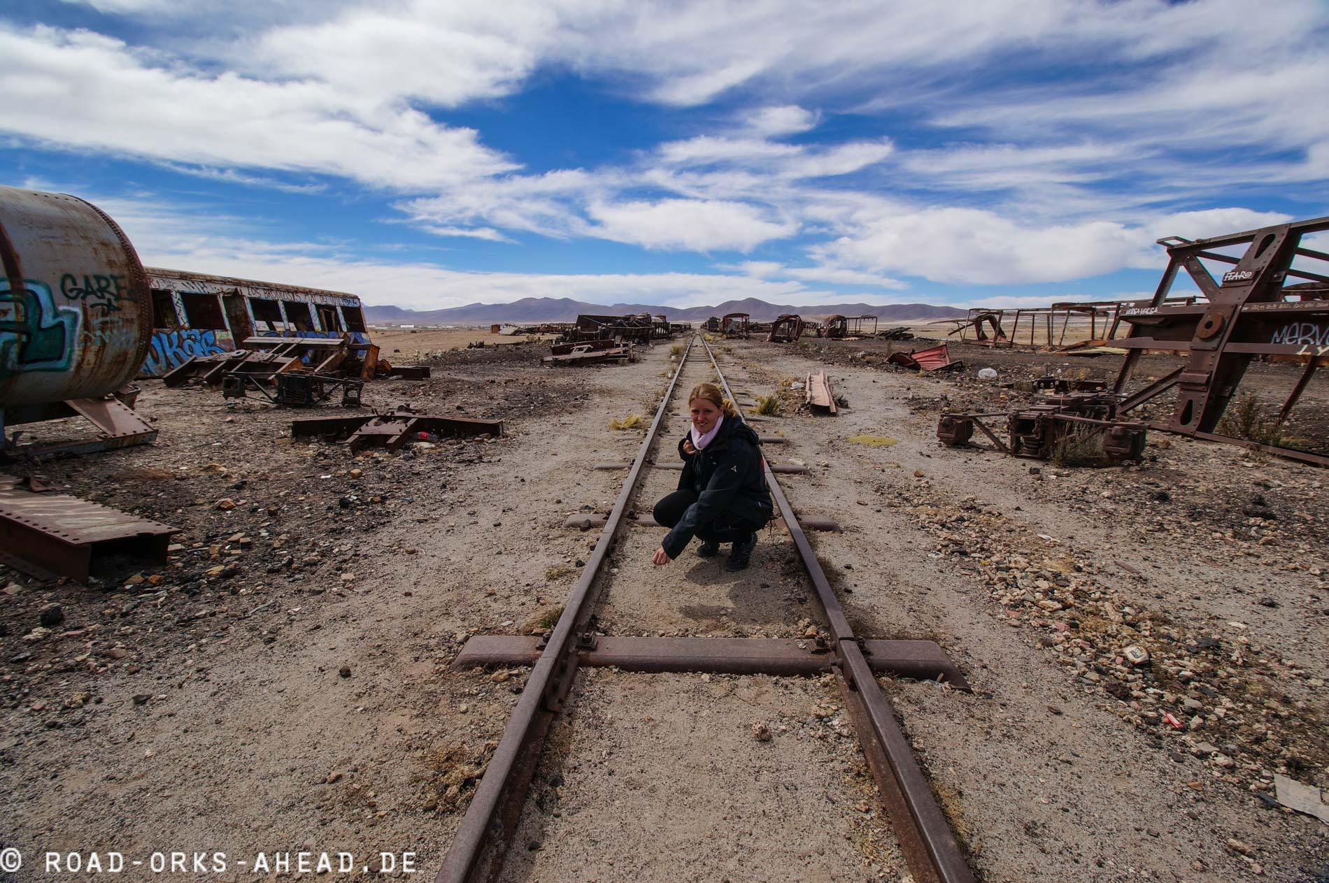 Auf dem Eisenbahnfriedhof
