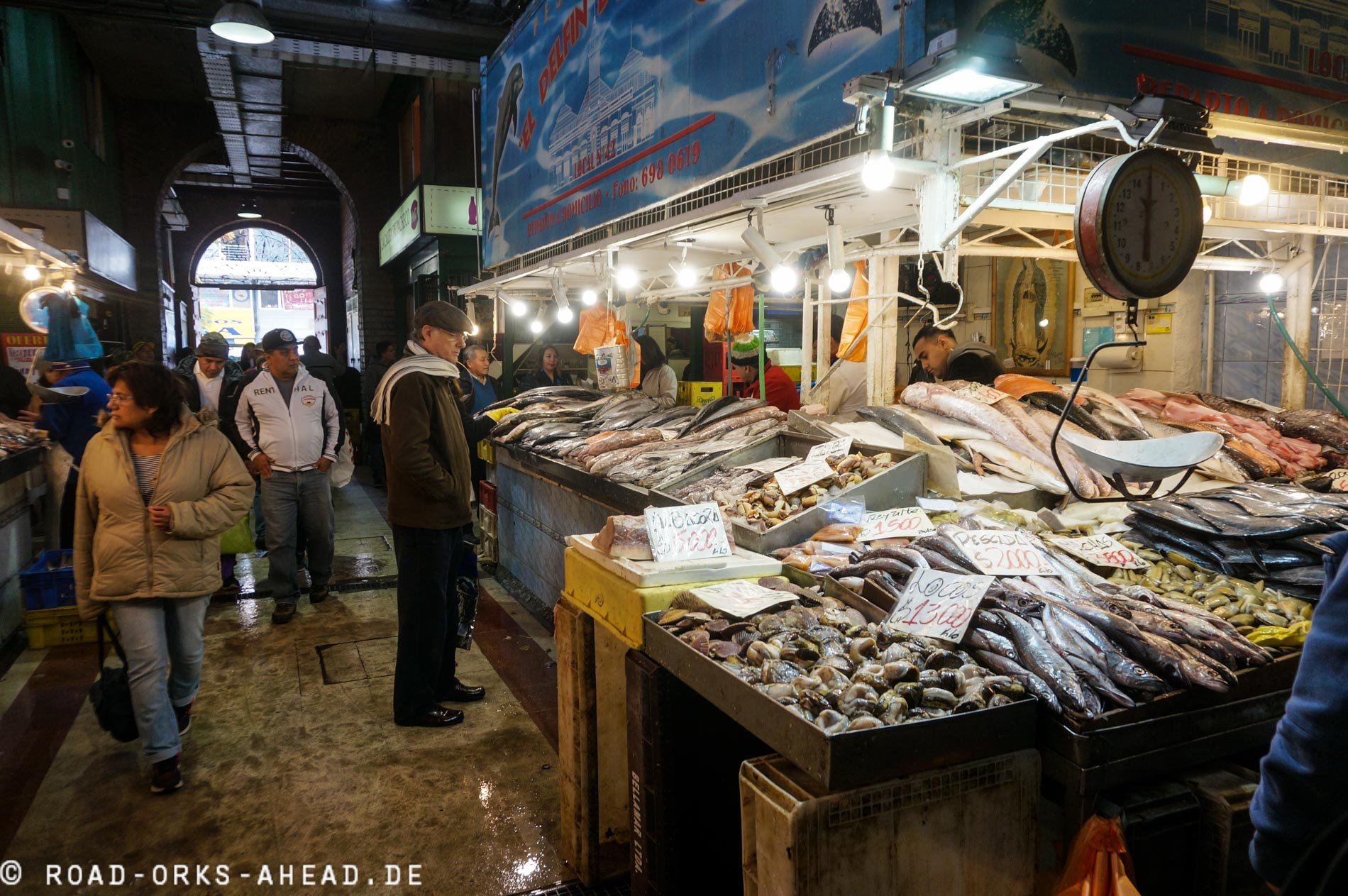 Santiagos Fischmarkt