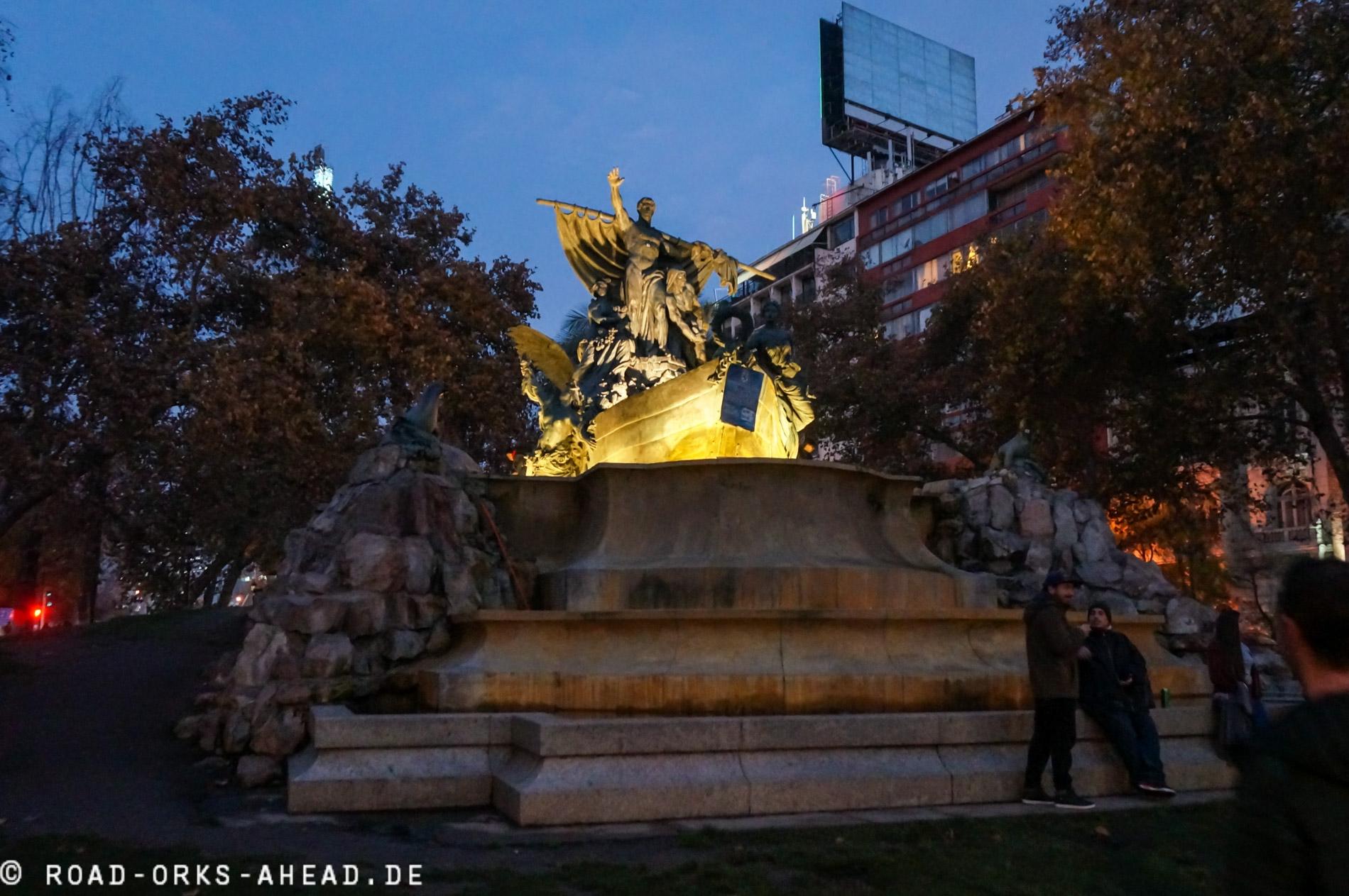 Deutscher Brunnen - Geschenk an Chile