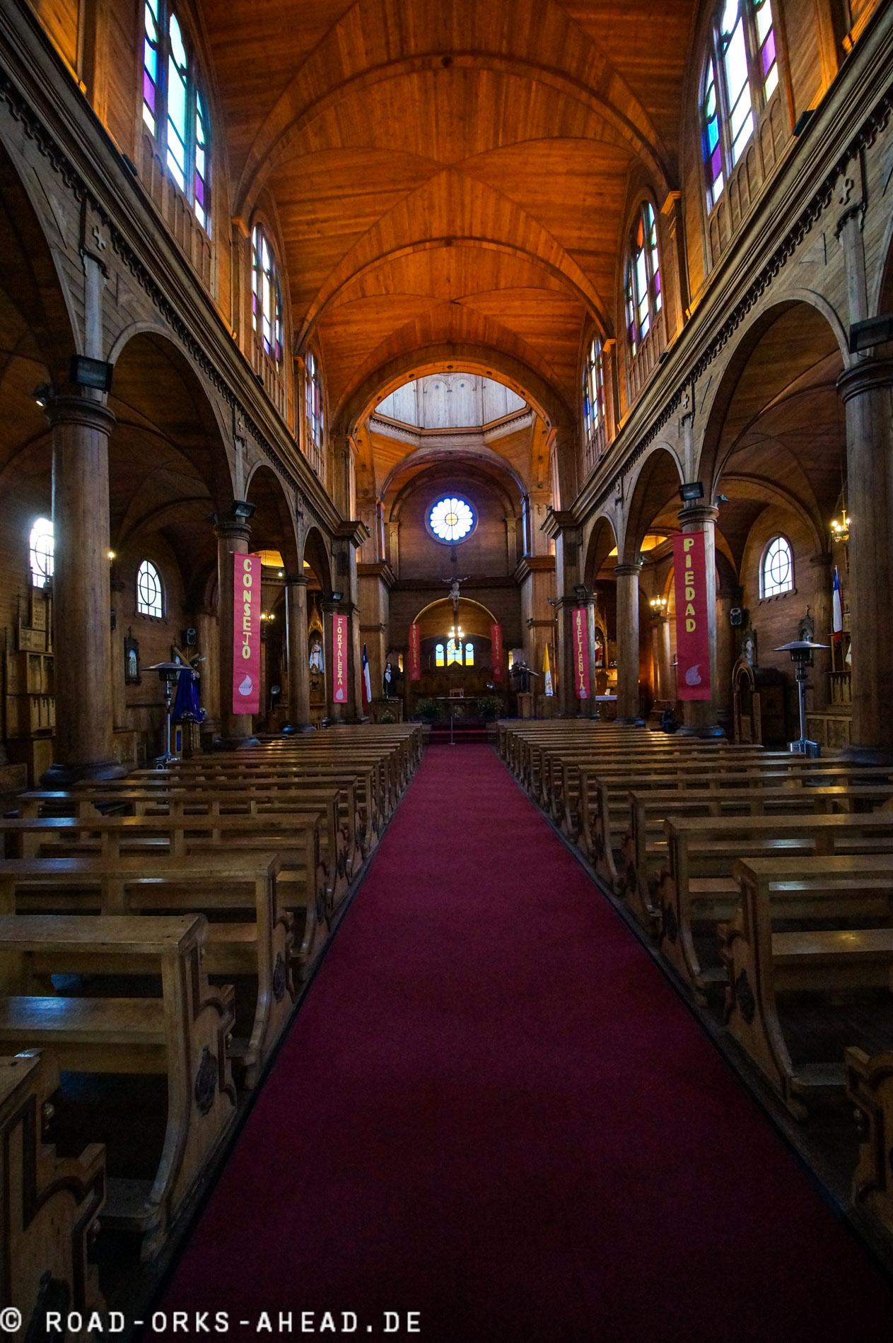 Iglesia San Francisco de Castro...komplett aus Holz