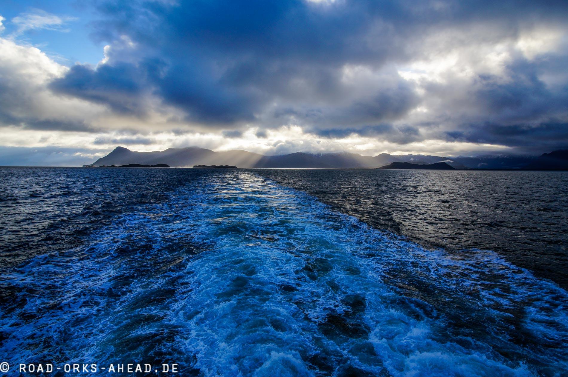 Auf der Fähre durch Patagoniens Fjorde