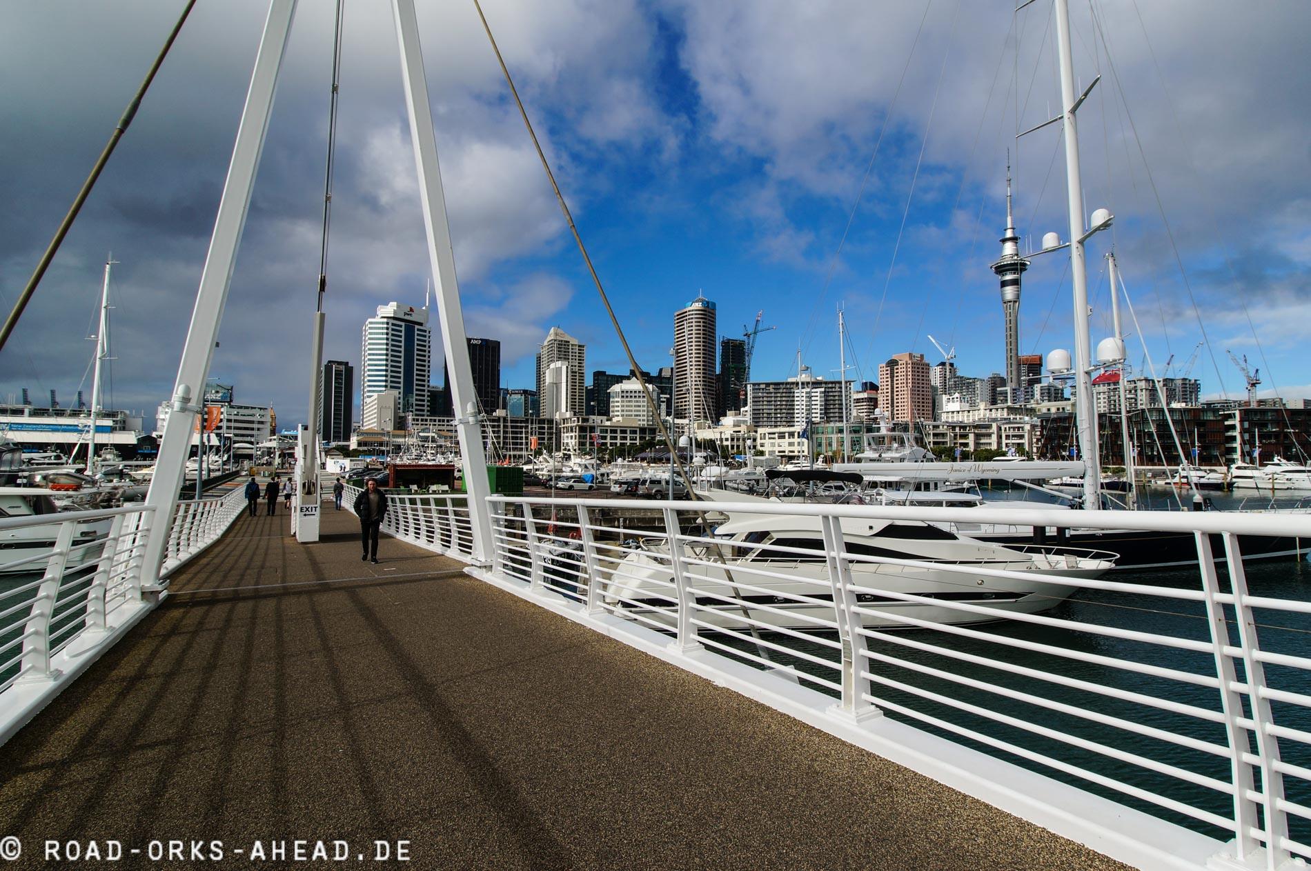Jachthafen Auckland