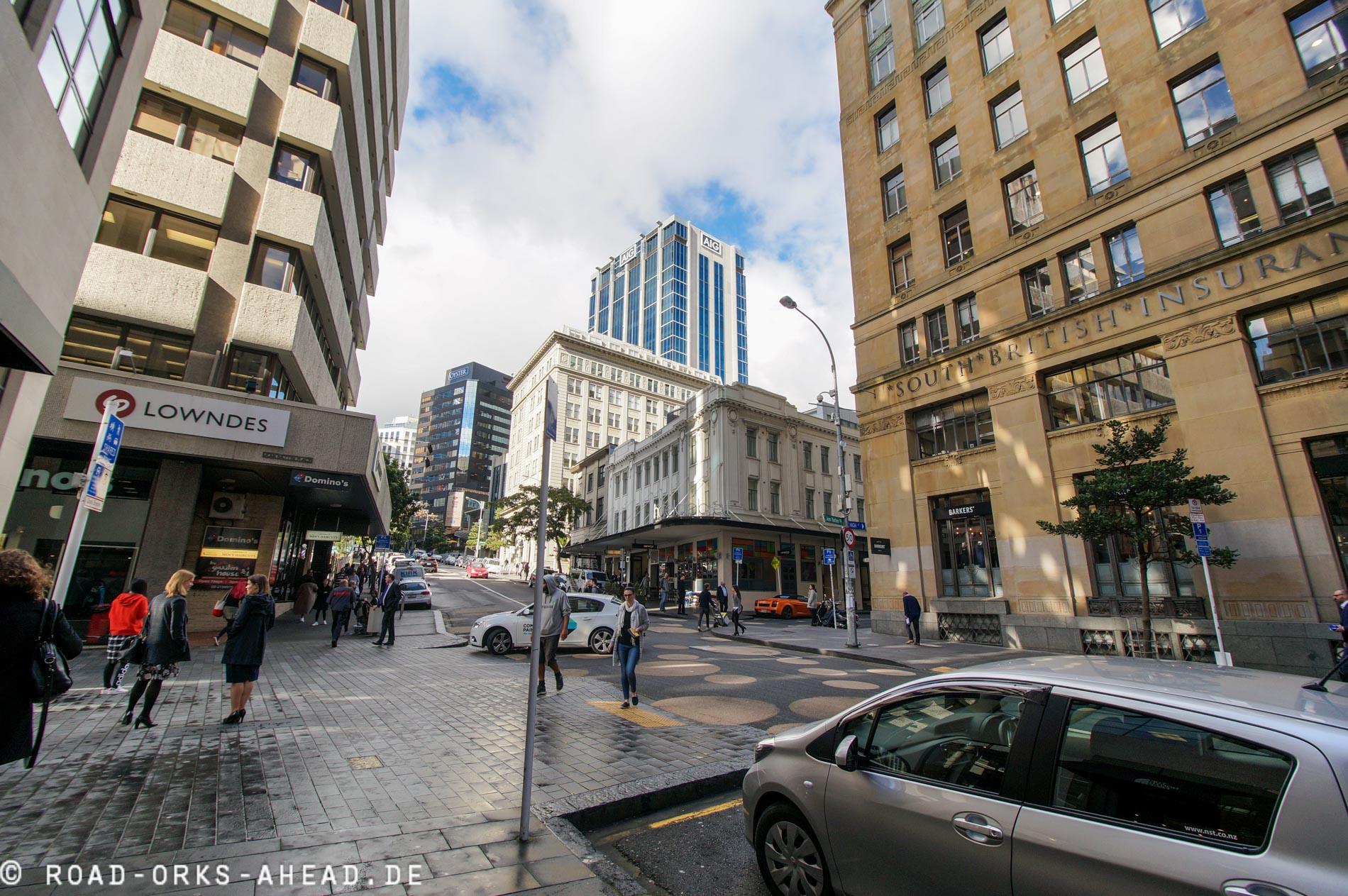 Innenstadt Auckland
