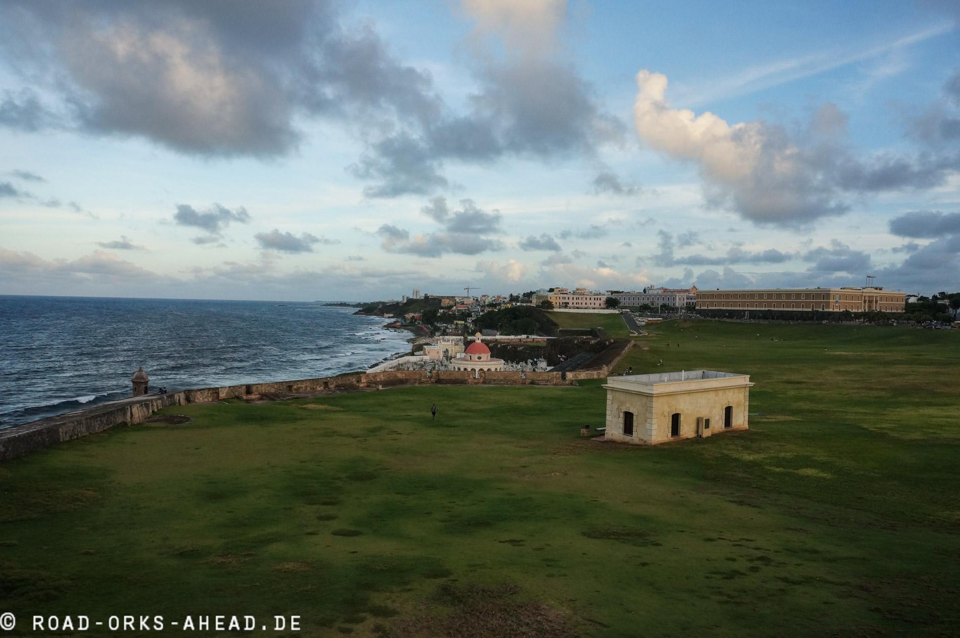 Blick auf Old San Juan