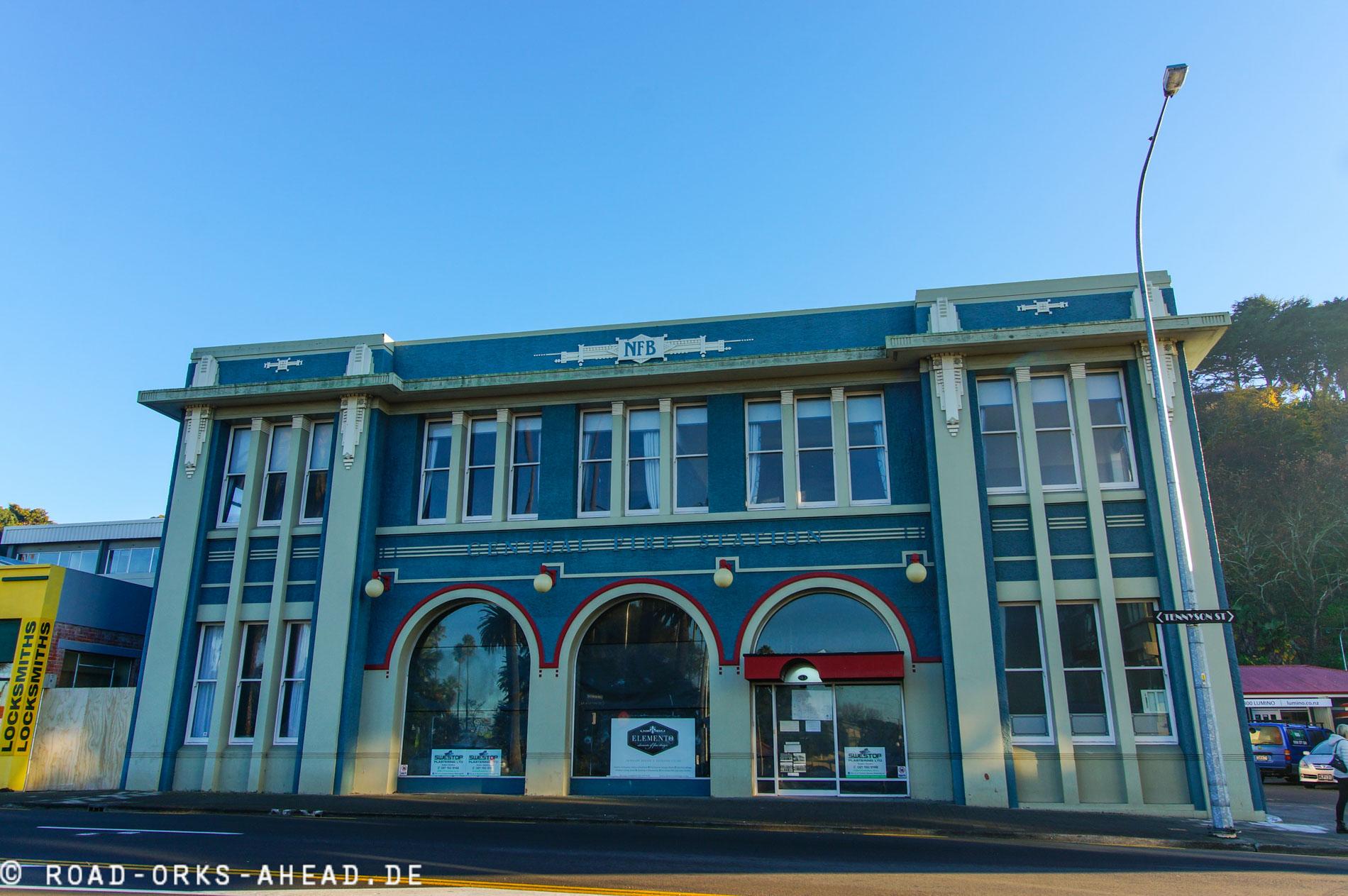 Art-Deco in Napier - viel Glaß und elektrisches Licht