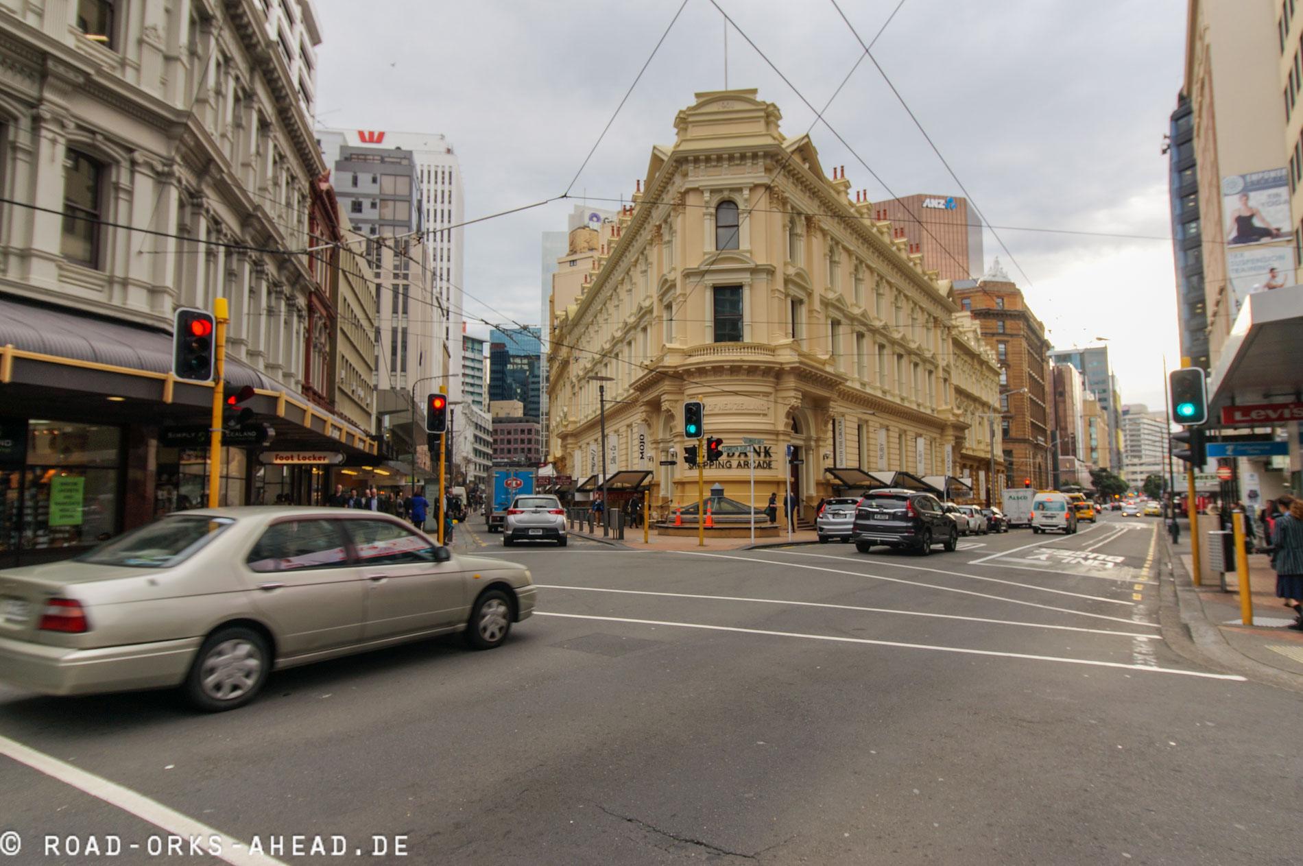 Wellington Innenstadt