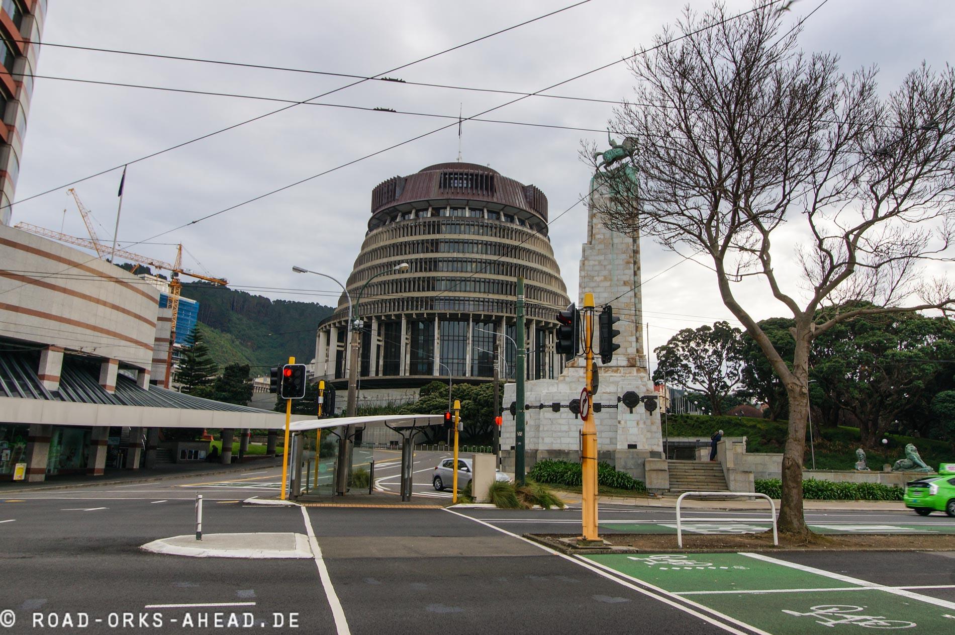 Beehive - Neuseelands Parlament