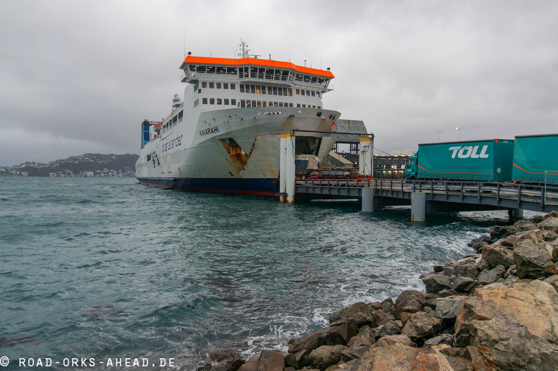 Interislander auf die Südinsel
