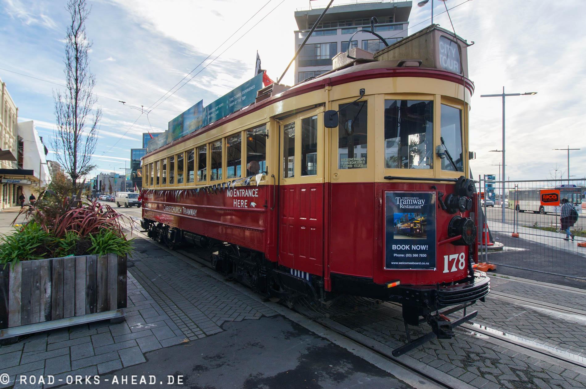 Christchurch's Touri Tram