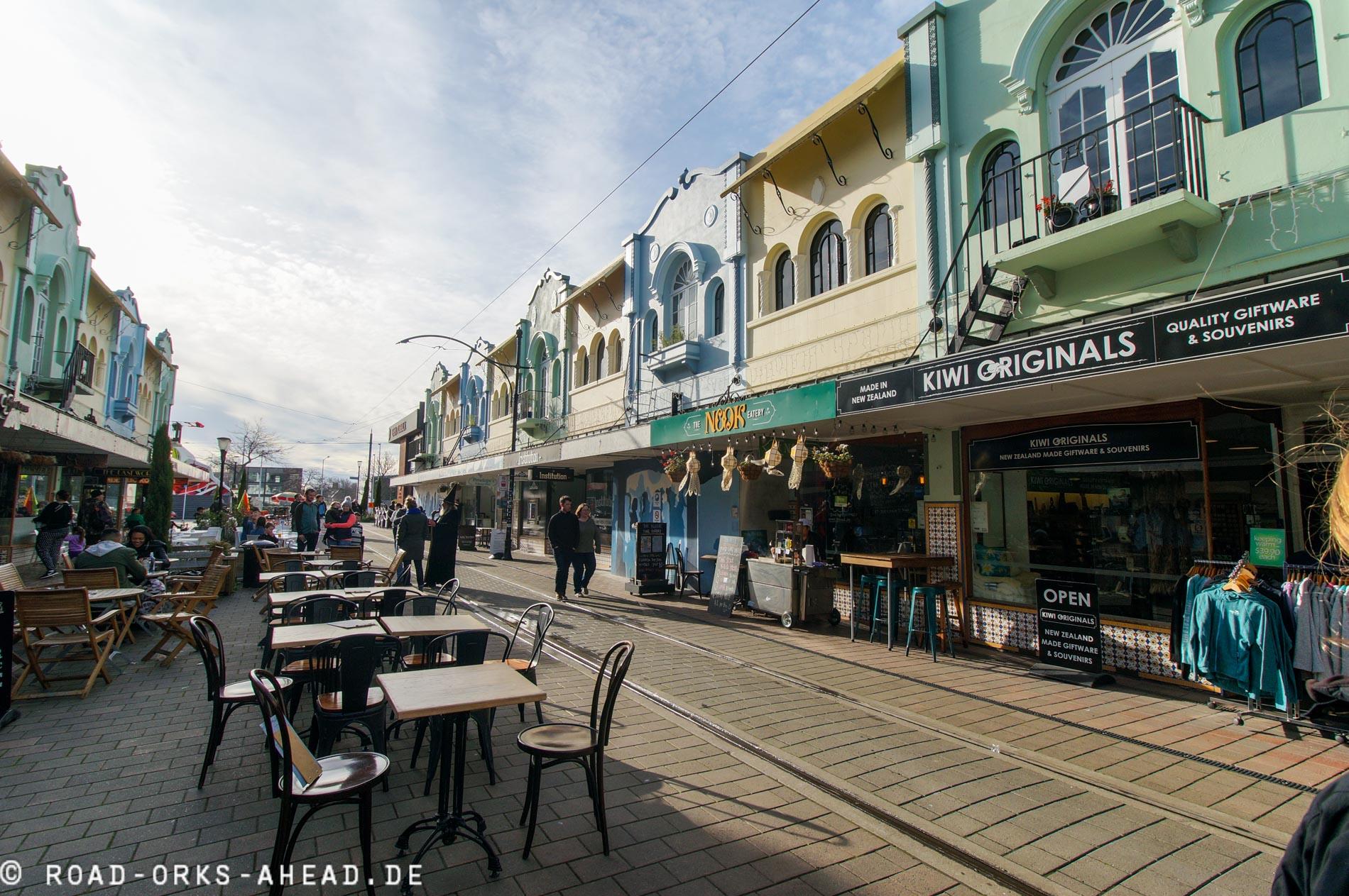 Altstadt Christchurch...