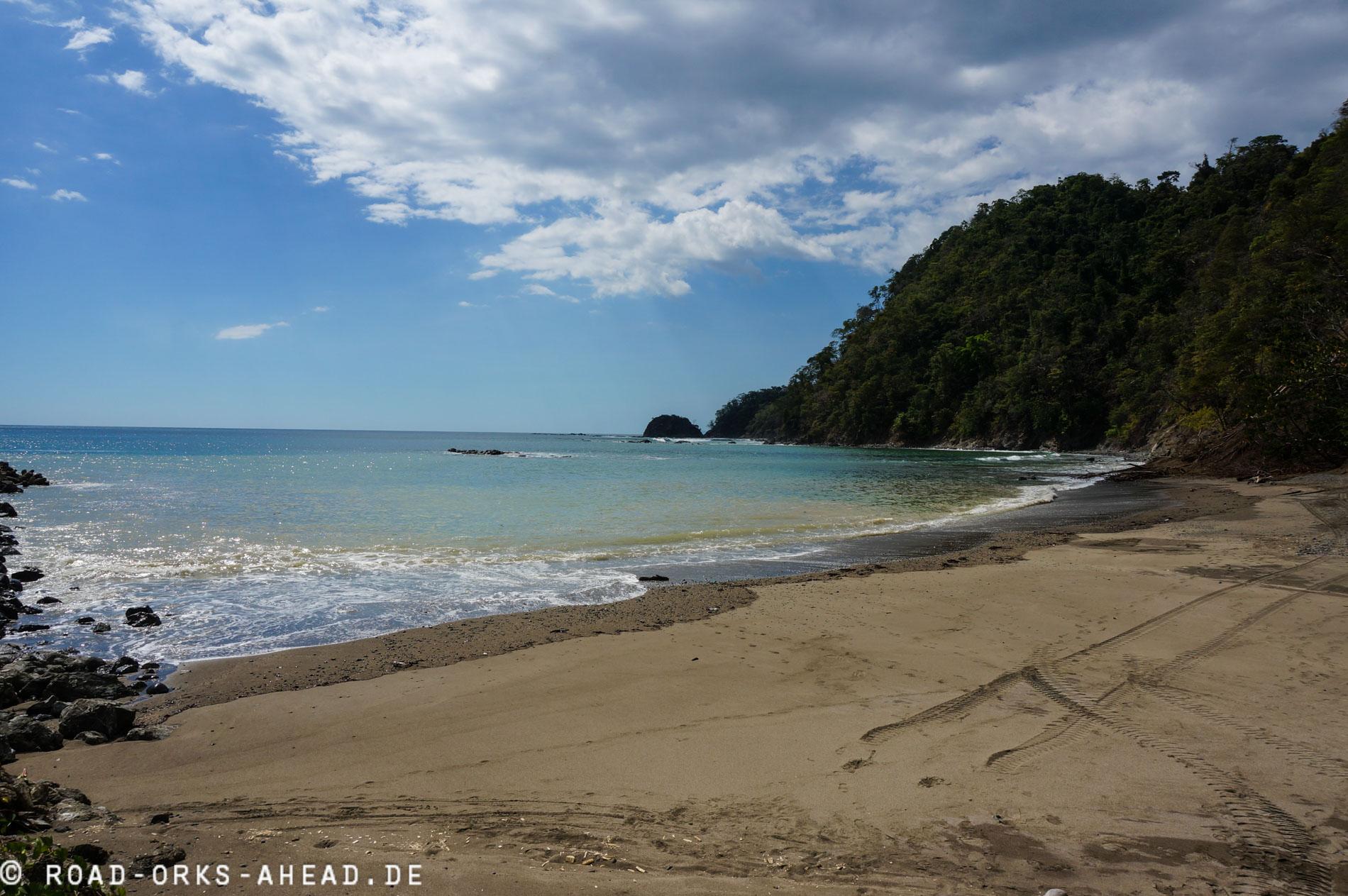 Strand am Bahia Herradura