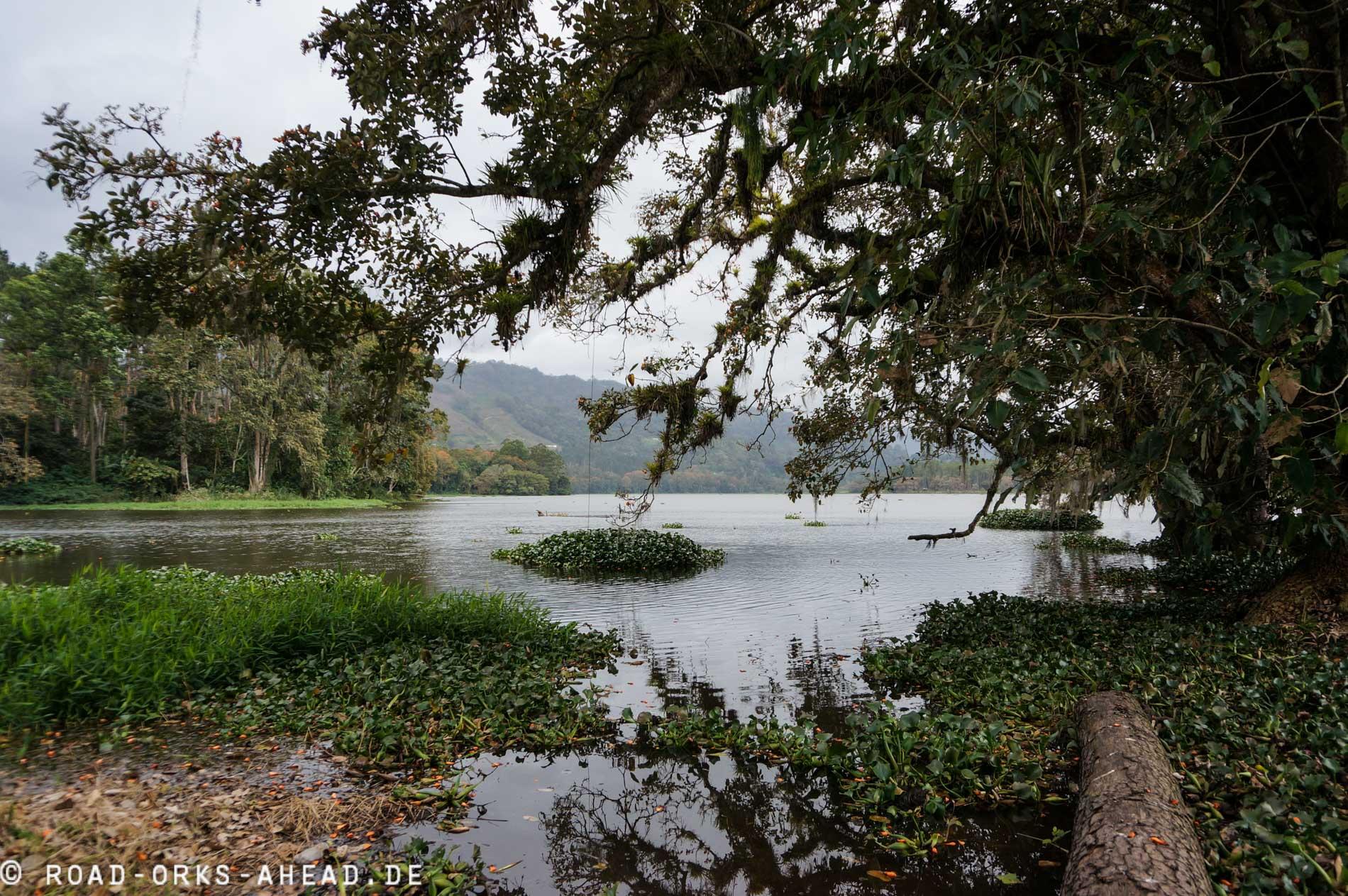 Blick auf den Lago de Cachi