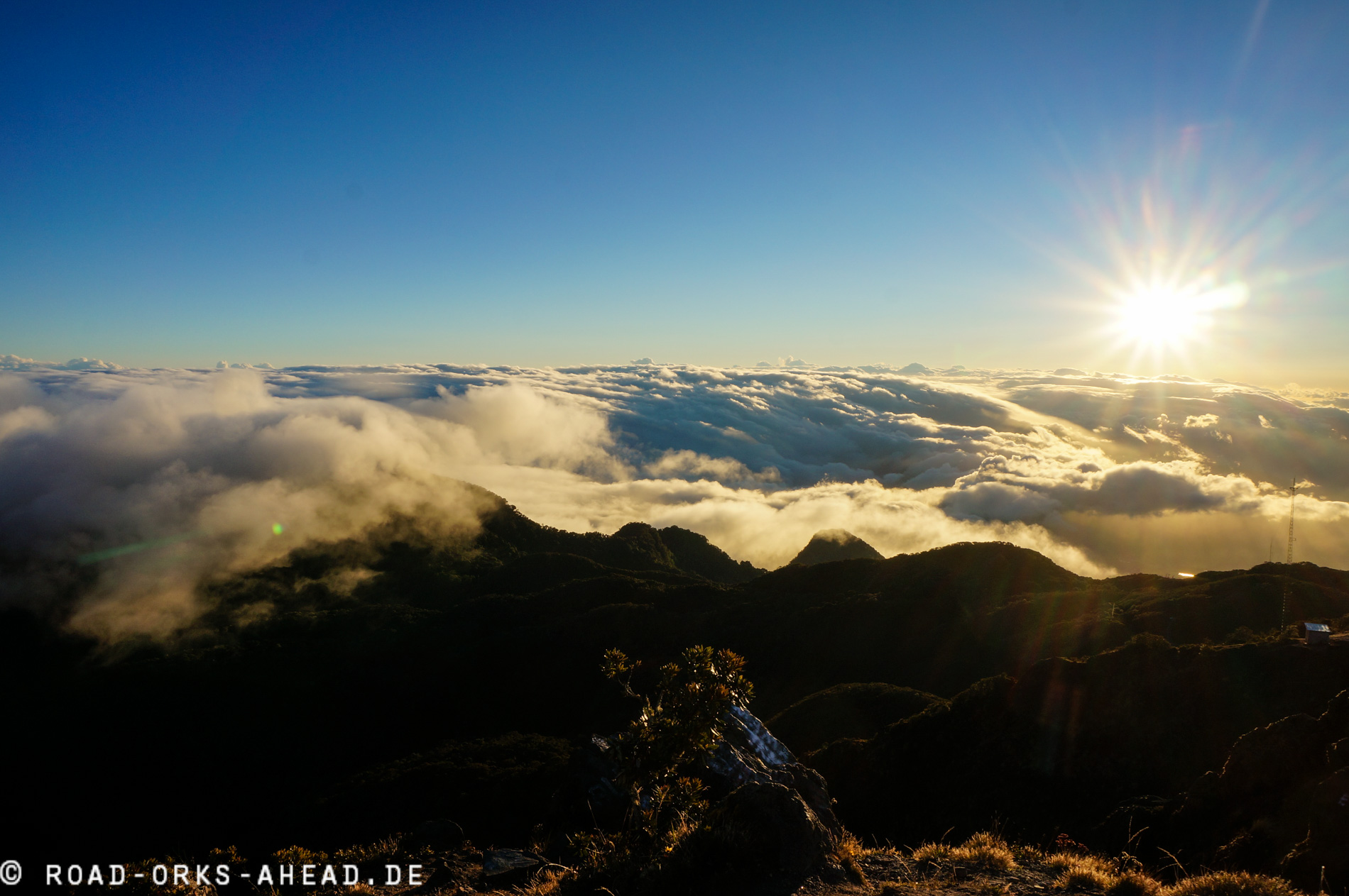 Vulkan Baru - Gipfelblick