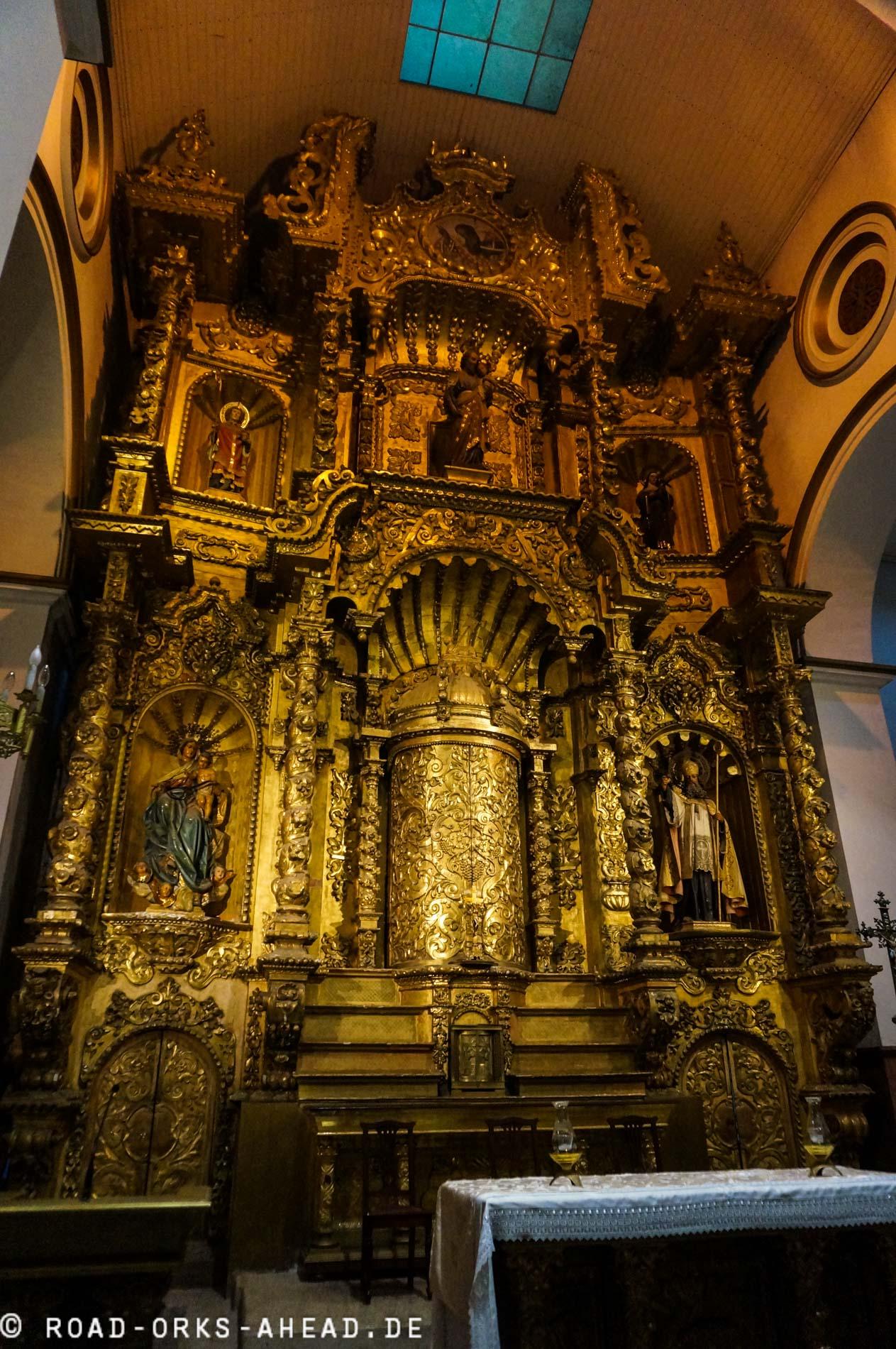 Goldener Altar...