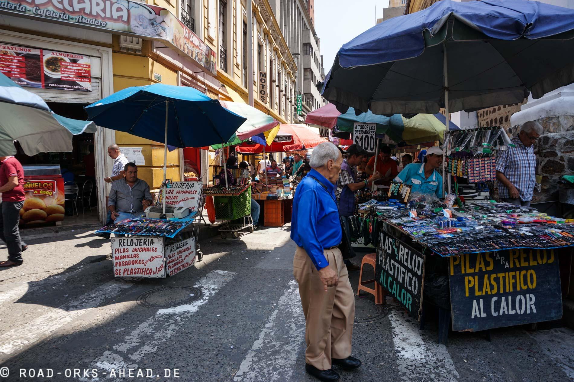 Einkaufen in Kolumbien