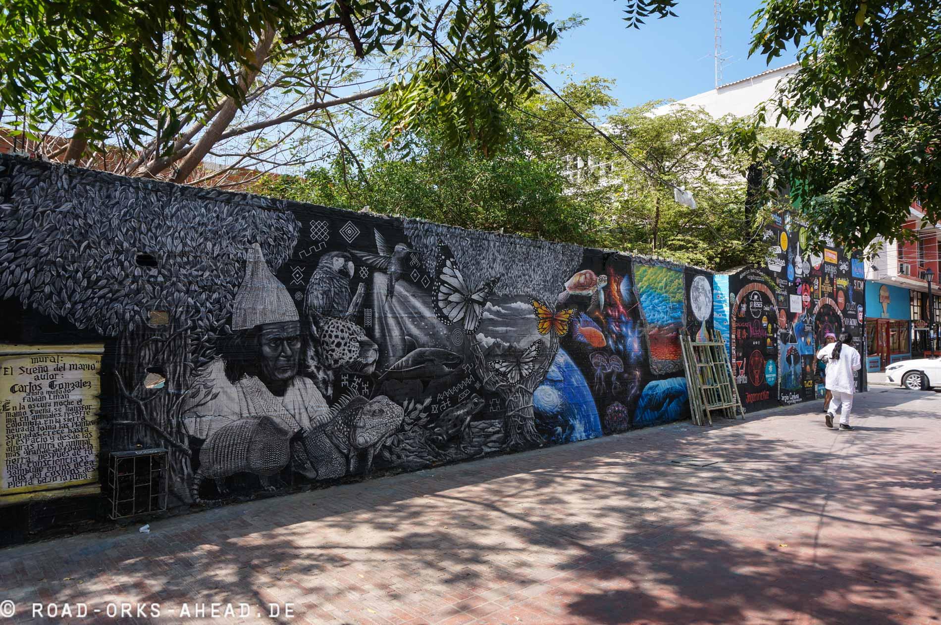 Kolumbianische Streetart