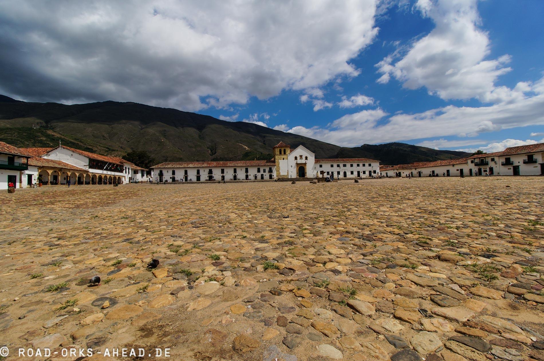 Der größte Hauptplatz in Südamerika
