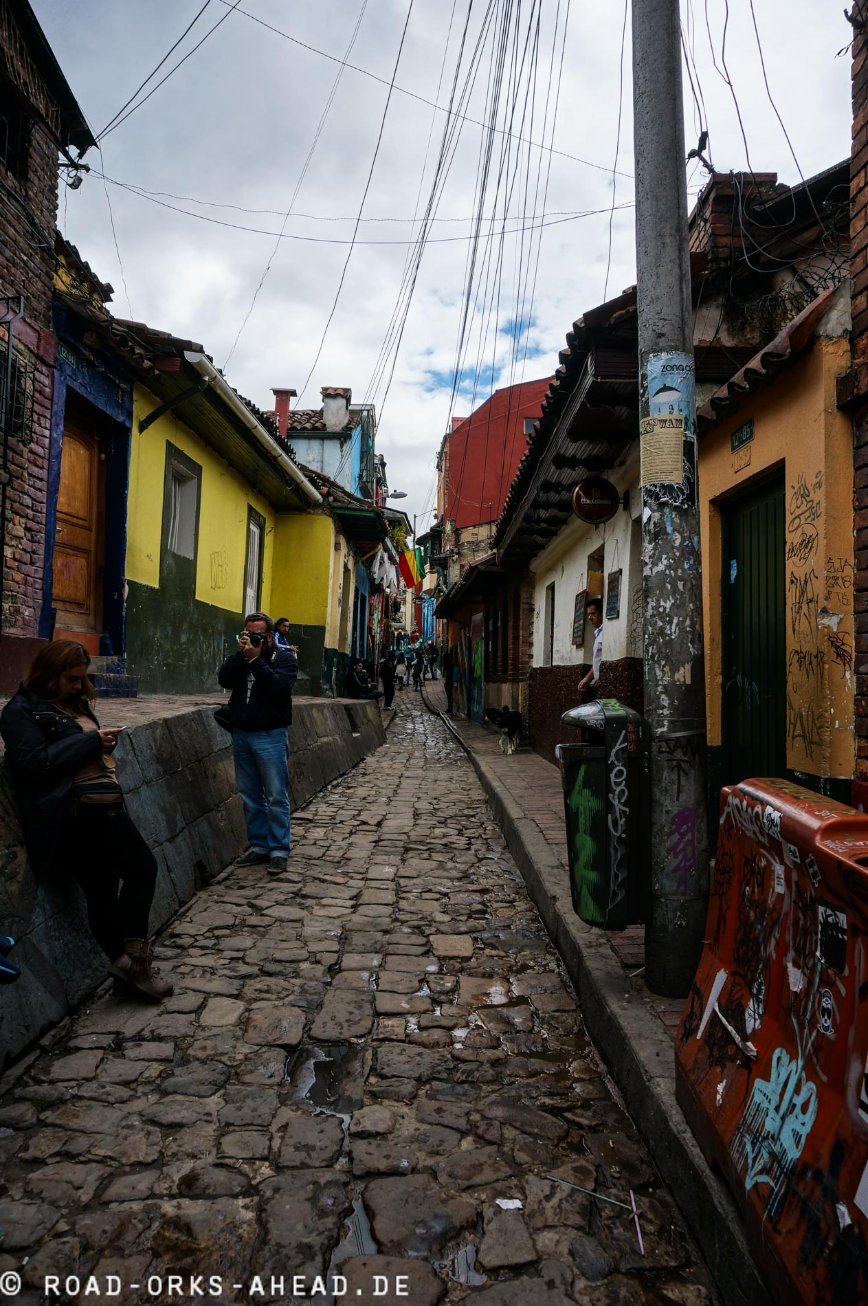 Bogota's bunte Gassen