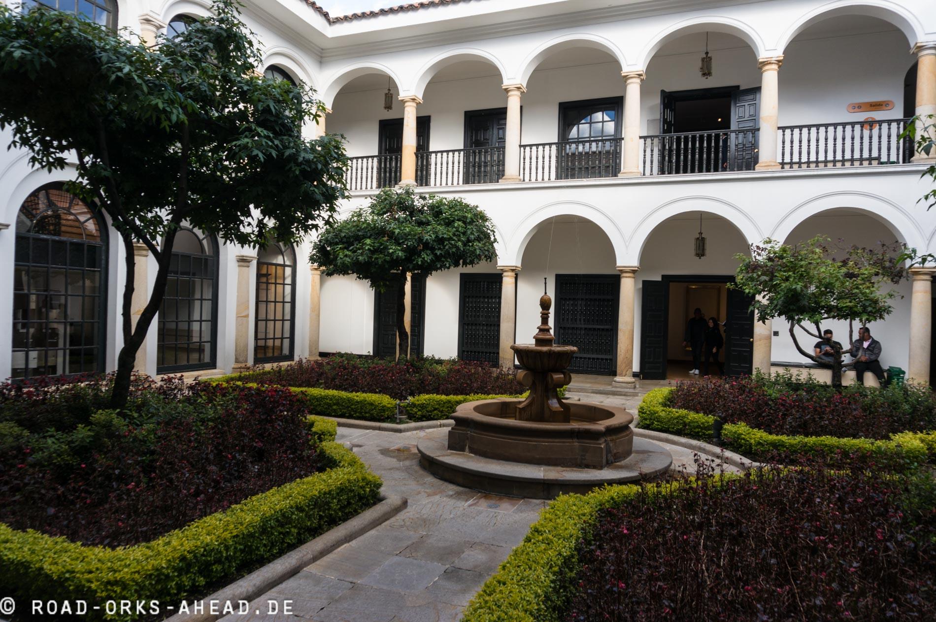 Schicke koloniale Architektur