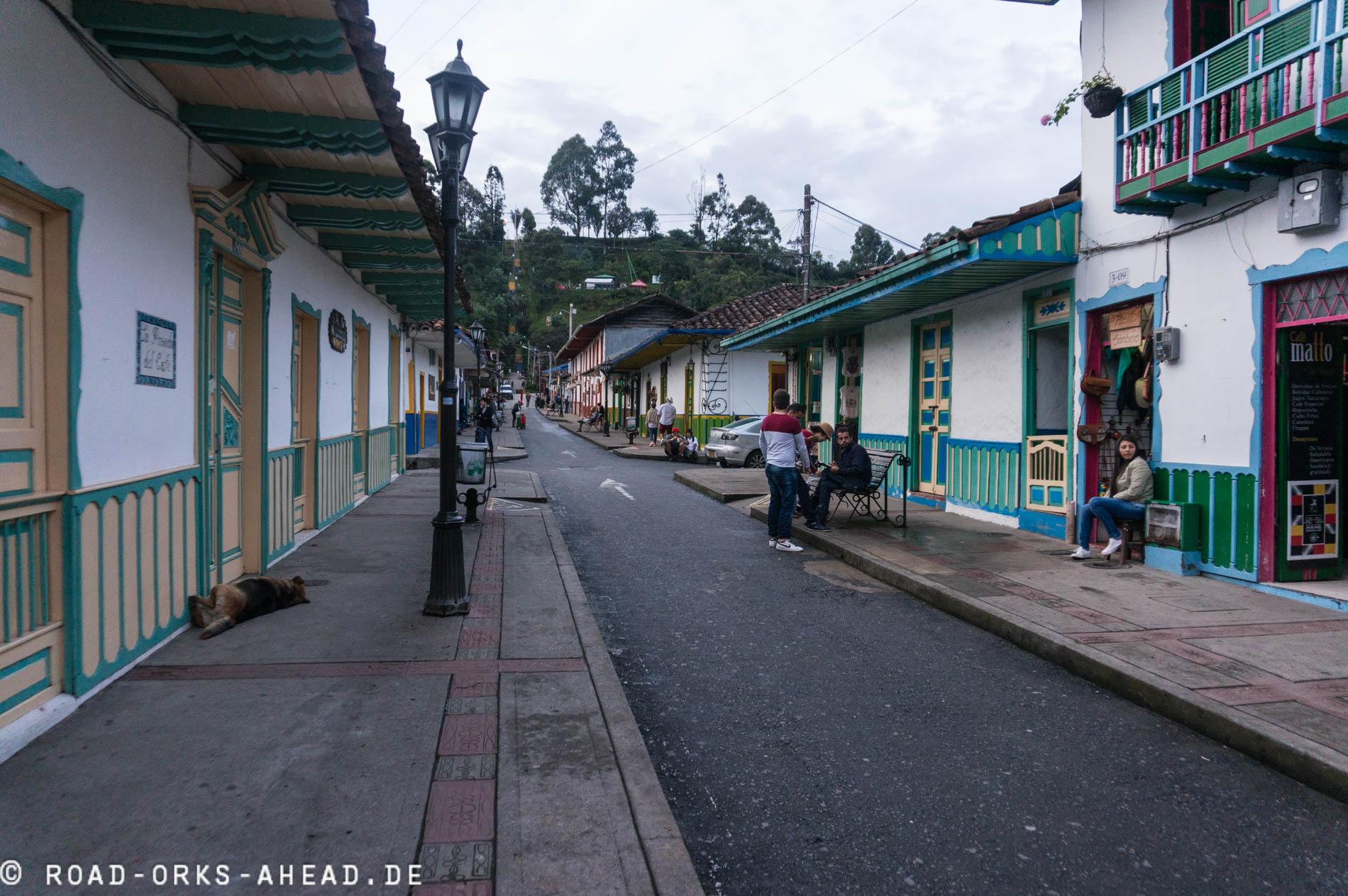 Salento, eine Hauptstraße, ein Platz, das wars!