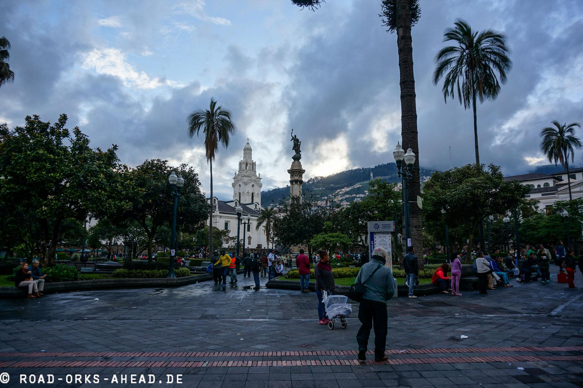 Quito Plaza de la Independencia