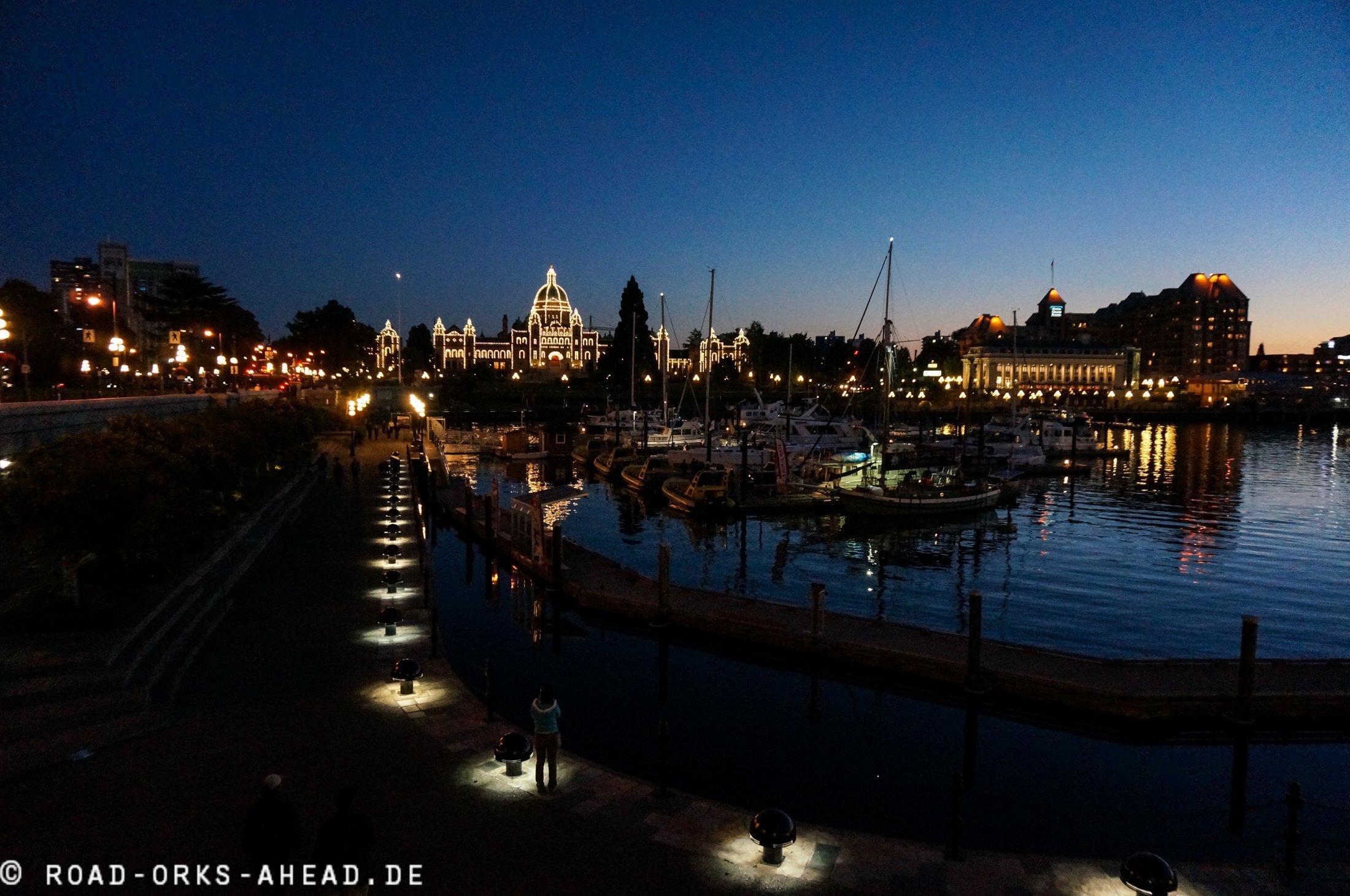 Victoria bei Nacht