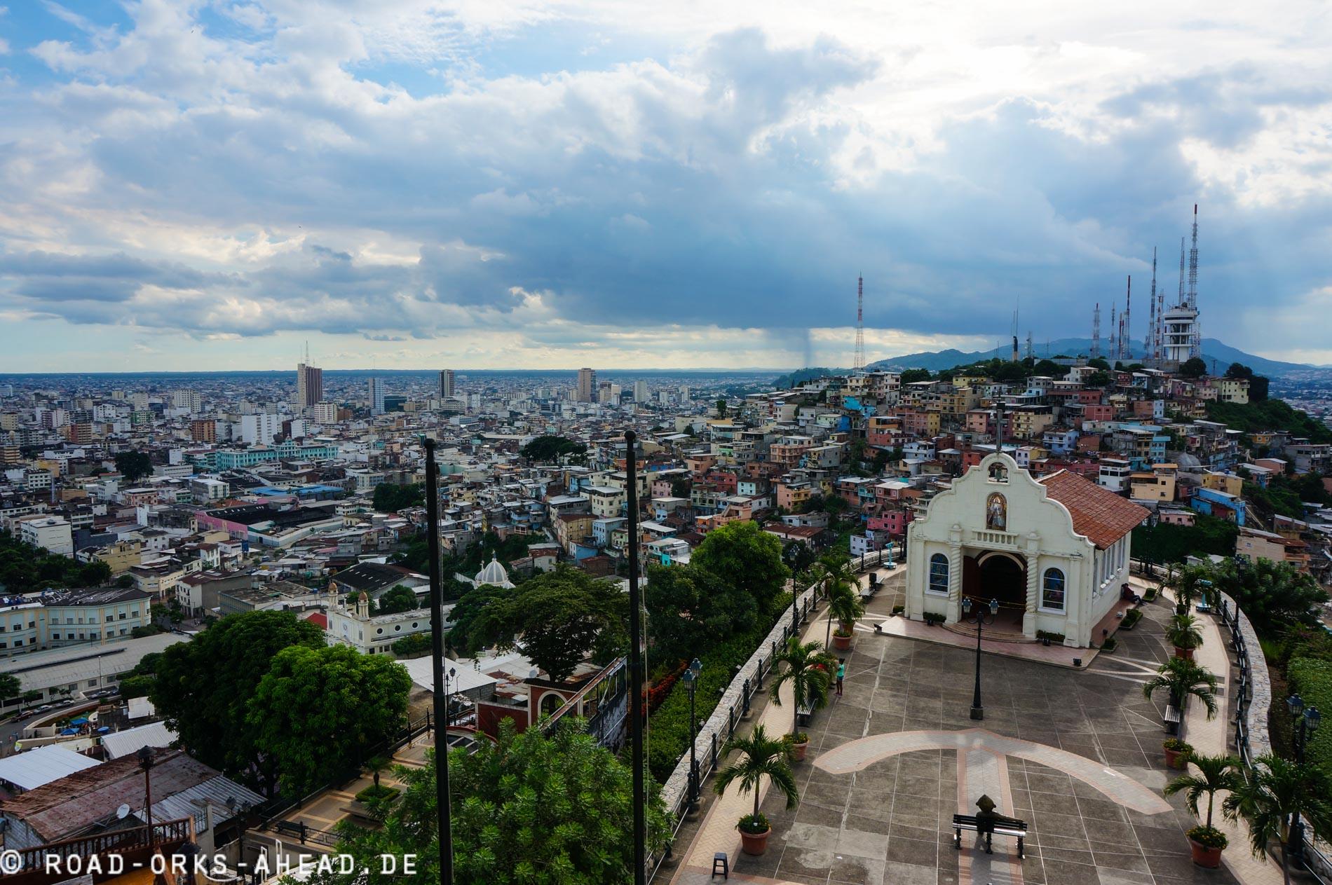 Blick auf Las Penas