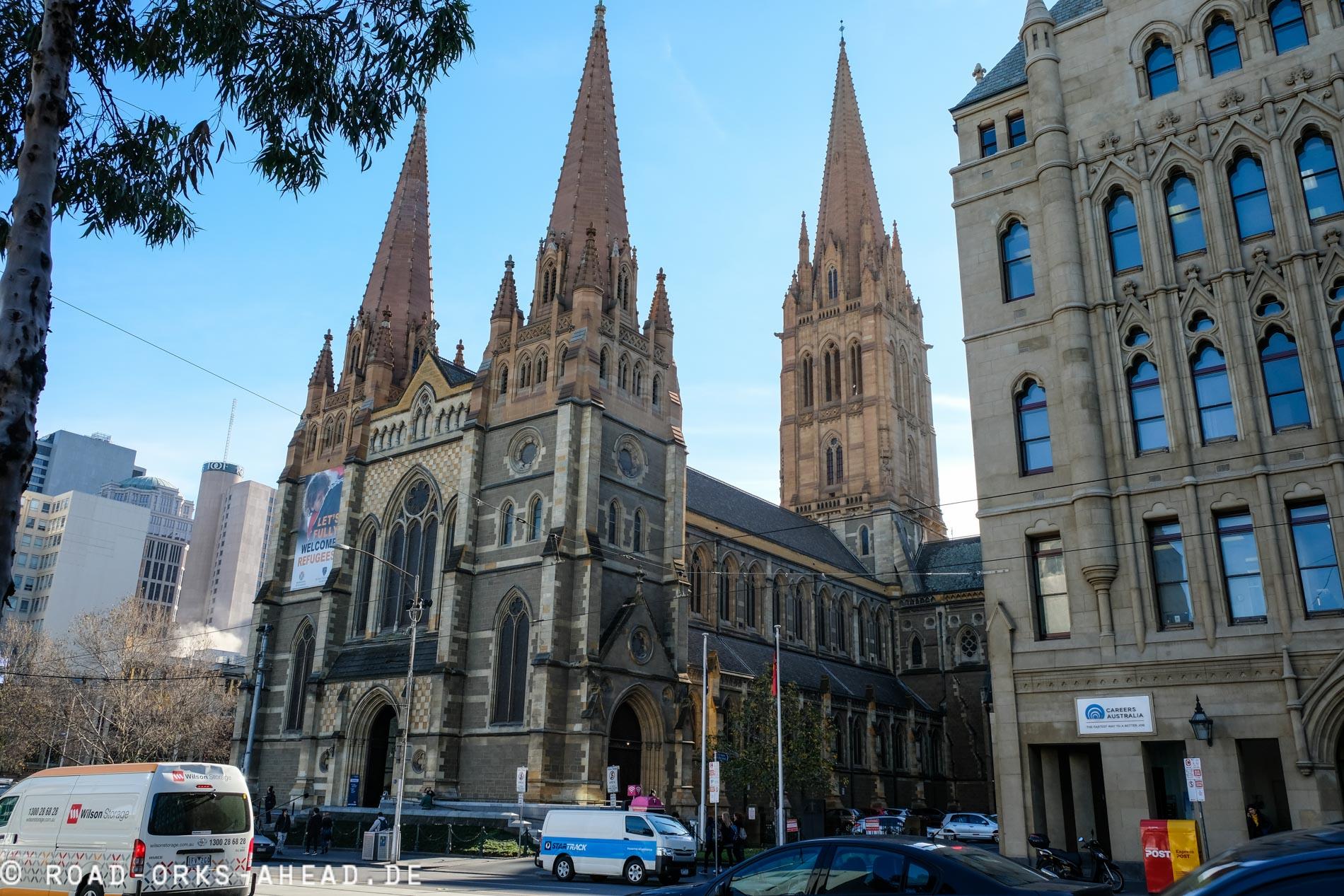 St Paul's Kathedrale, Melbourne