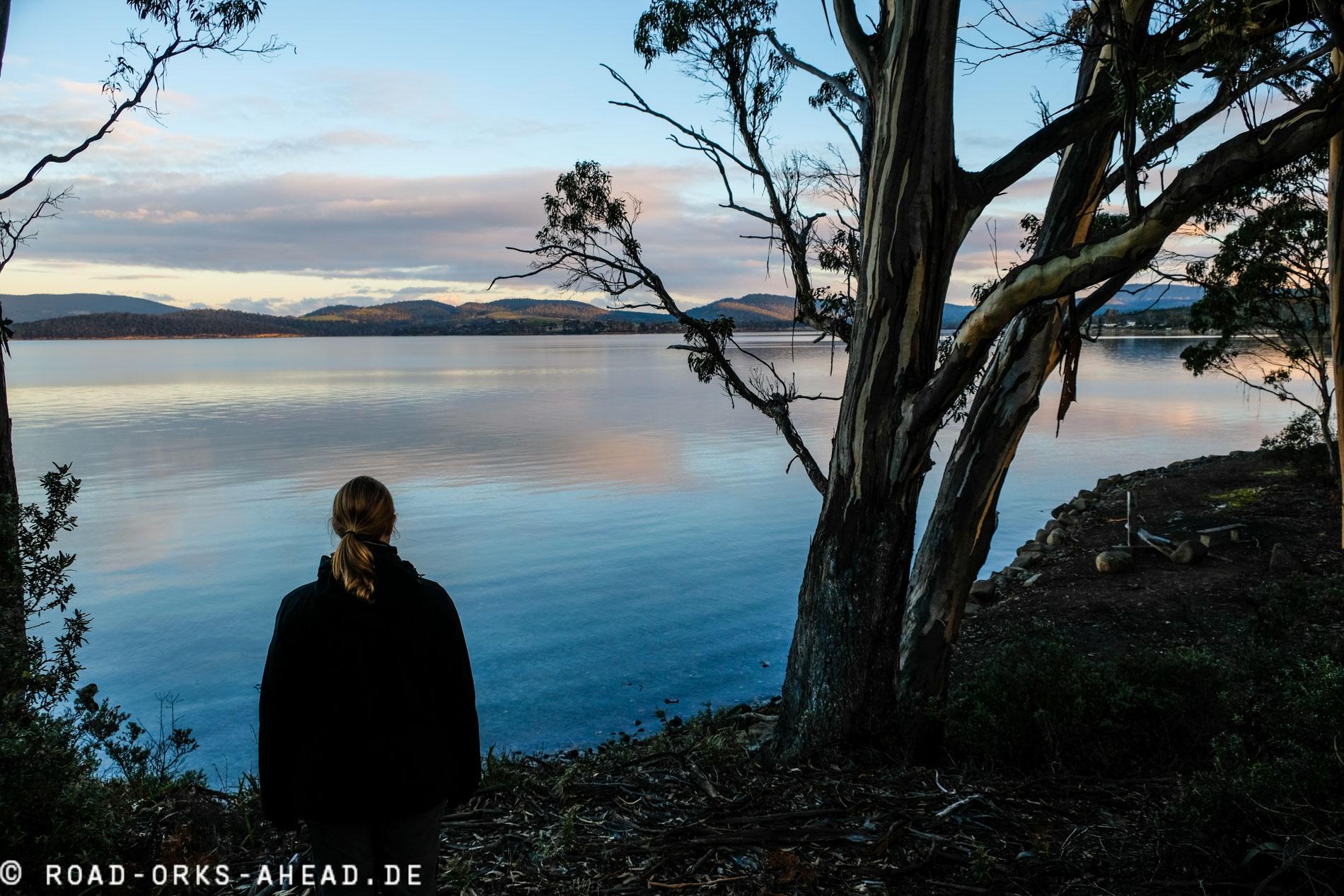 Einsame Ostküste Tasmaniens