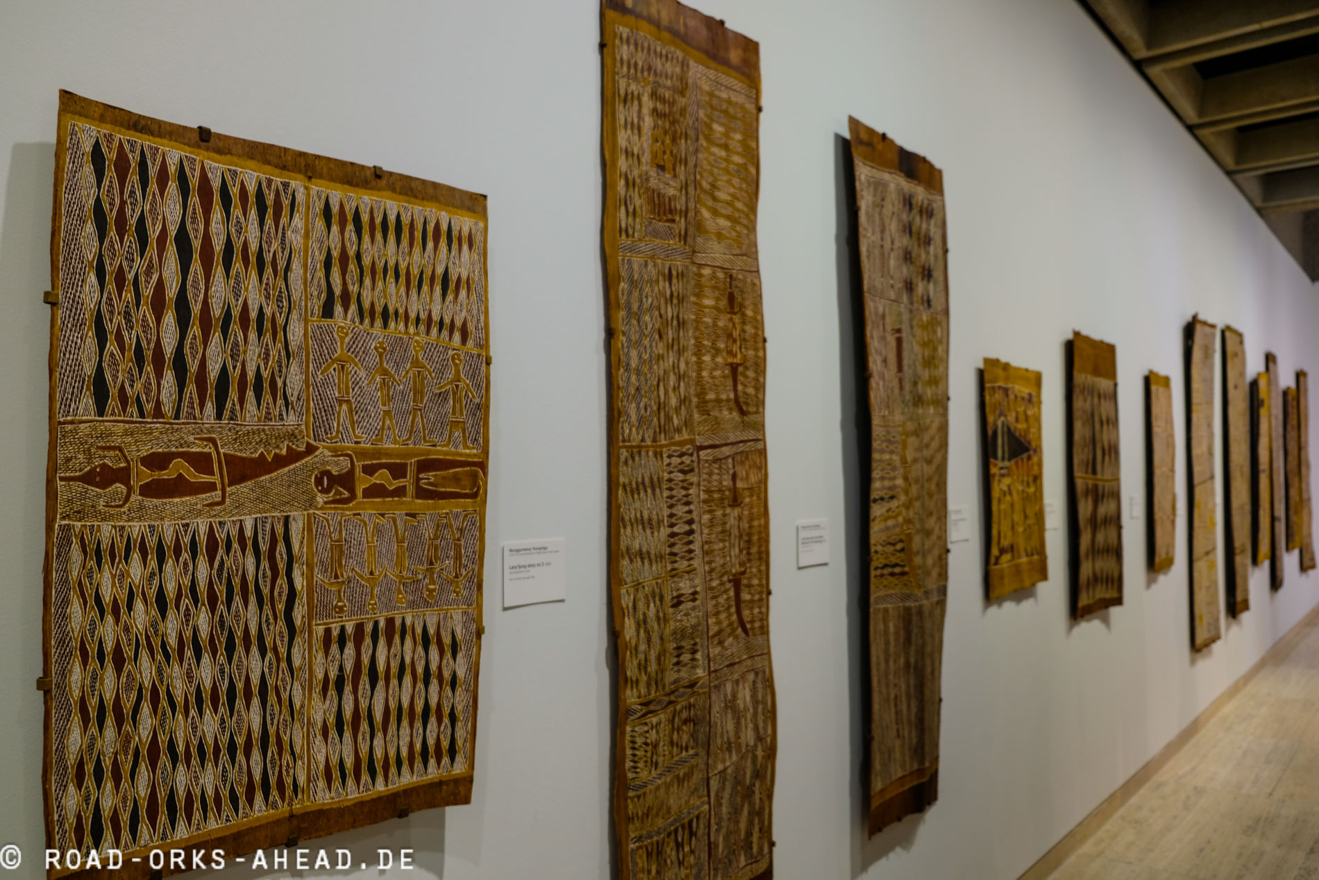 Aborigine Kunst in der Art Gallery of New South Wales