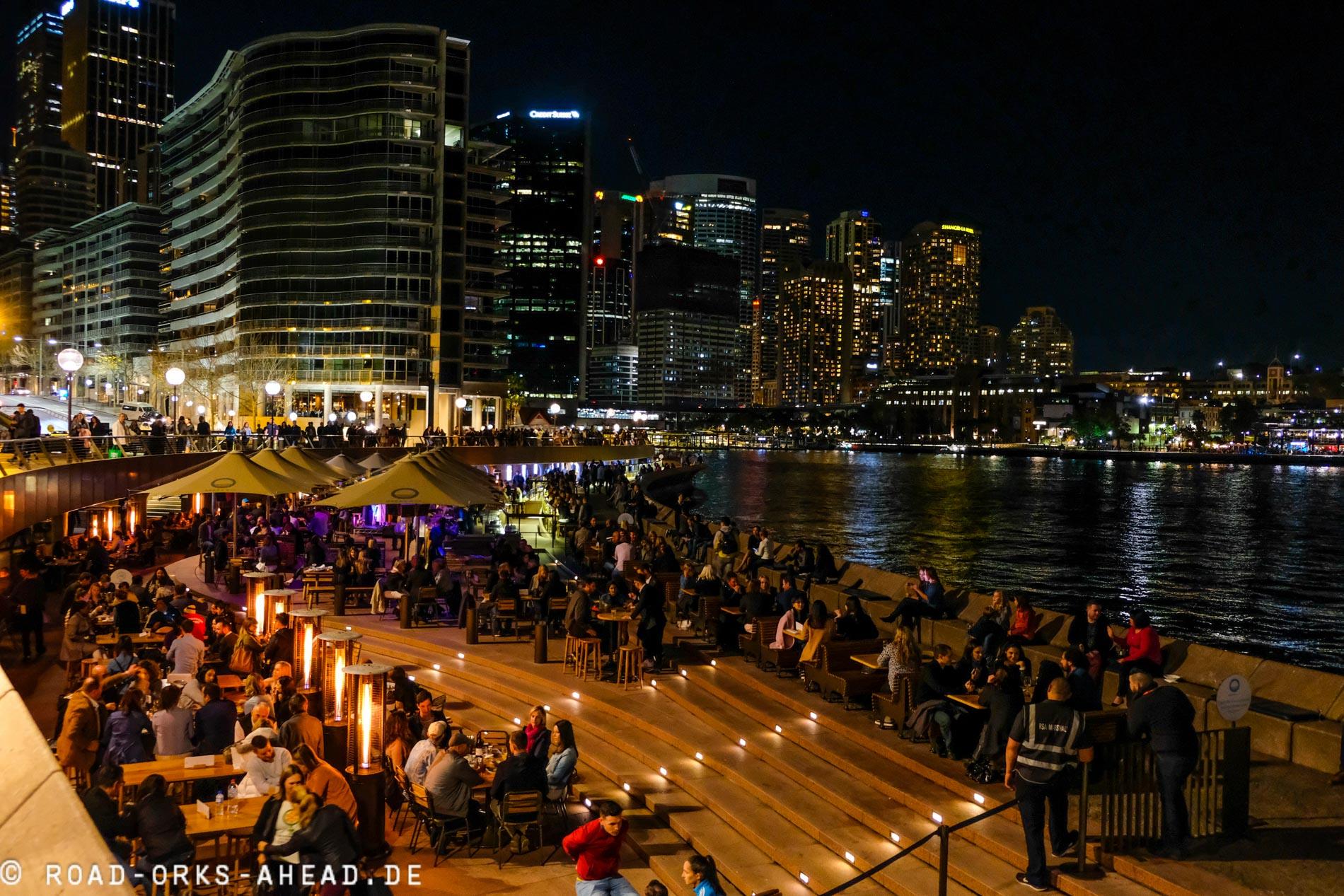 Reges Treiben in Sydneys Hafen