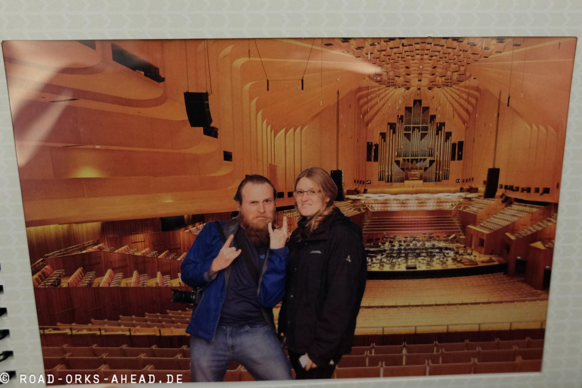 Unser Zwangsbild im Sydney Opera House