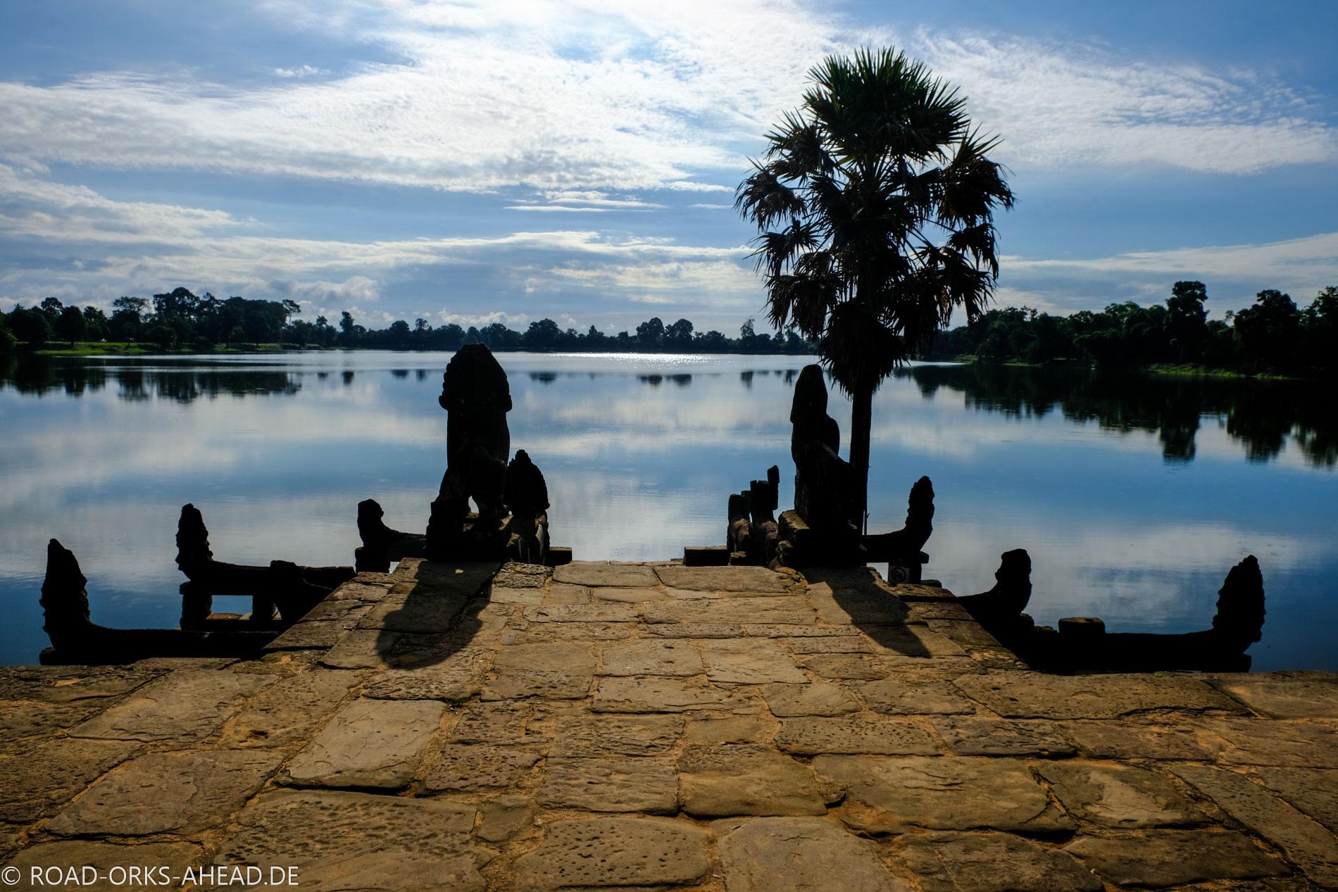 Start in den Angkor Marathon