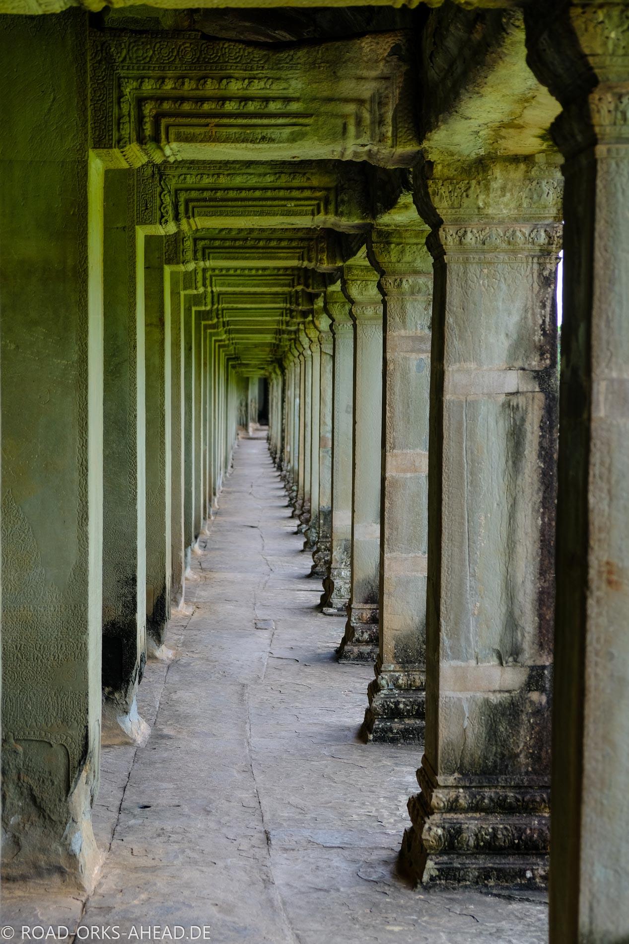 Riesige Ausmaße in Angkor Wat