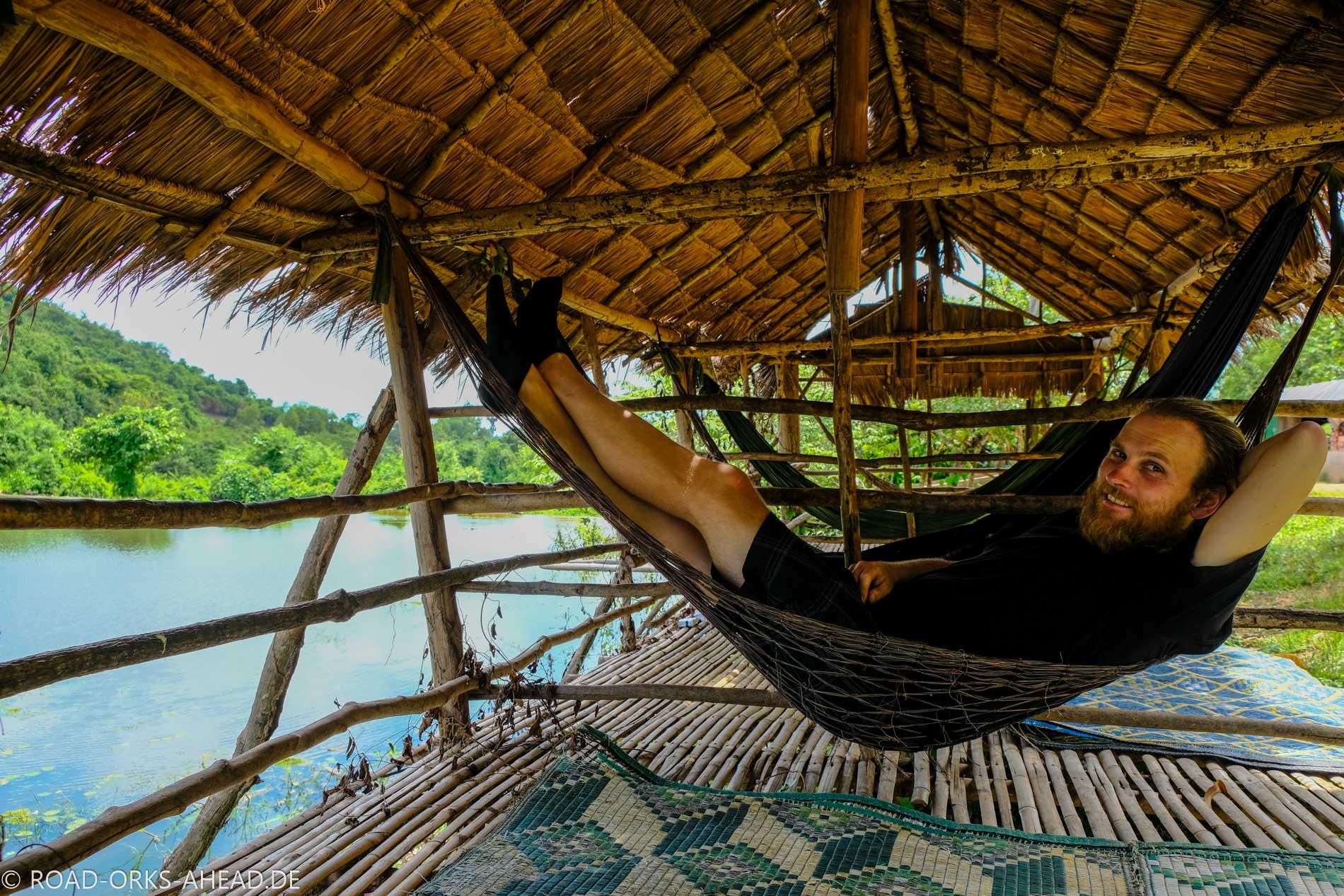 Relaxen in Kambodscha