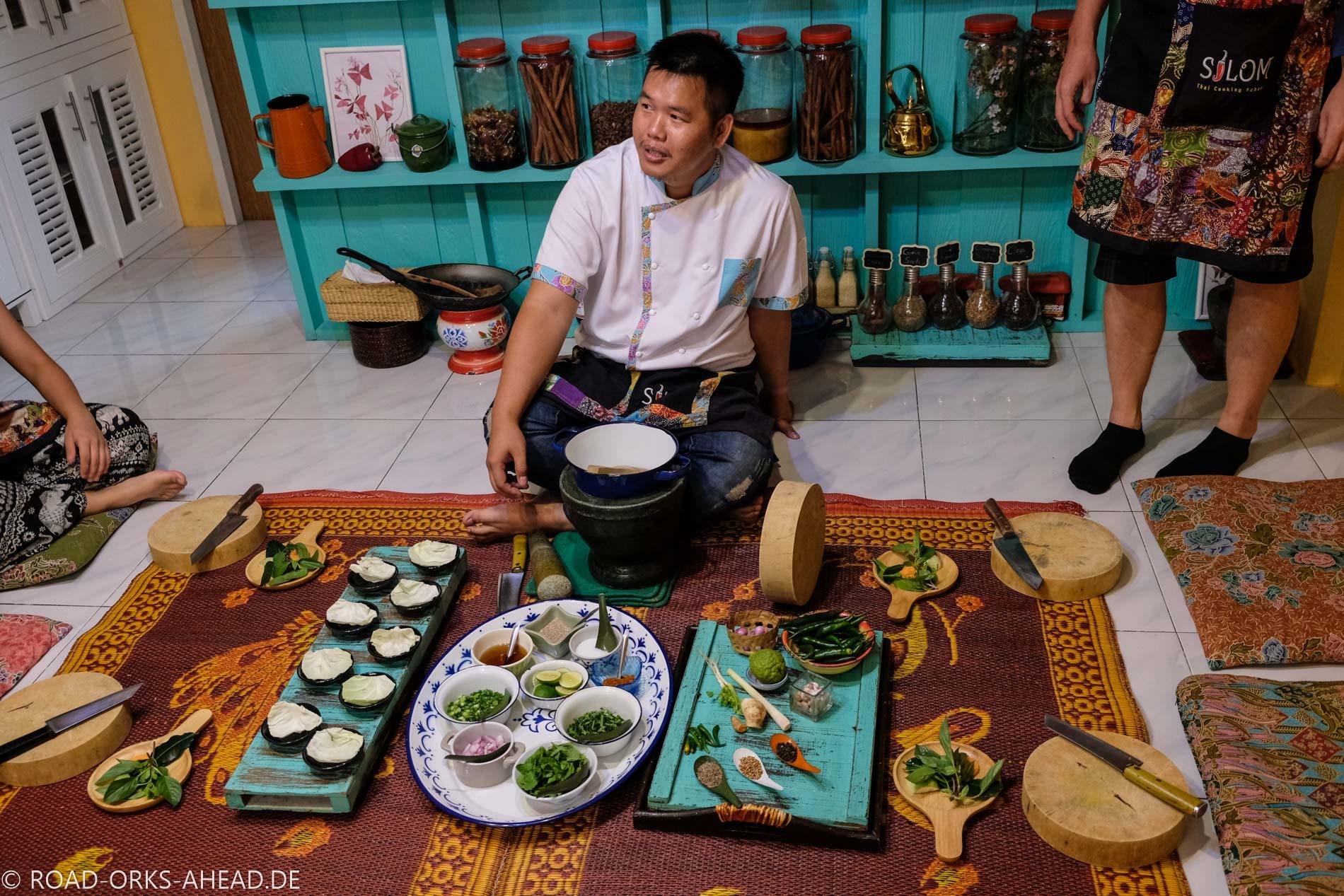 Unser Kochlehrer - Silom Thai Cooking School