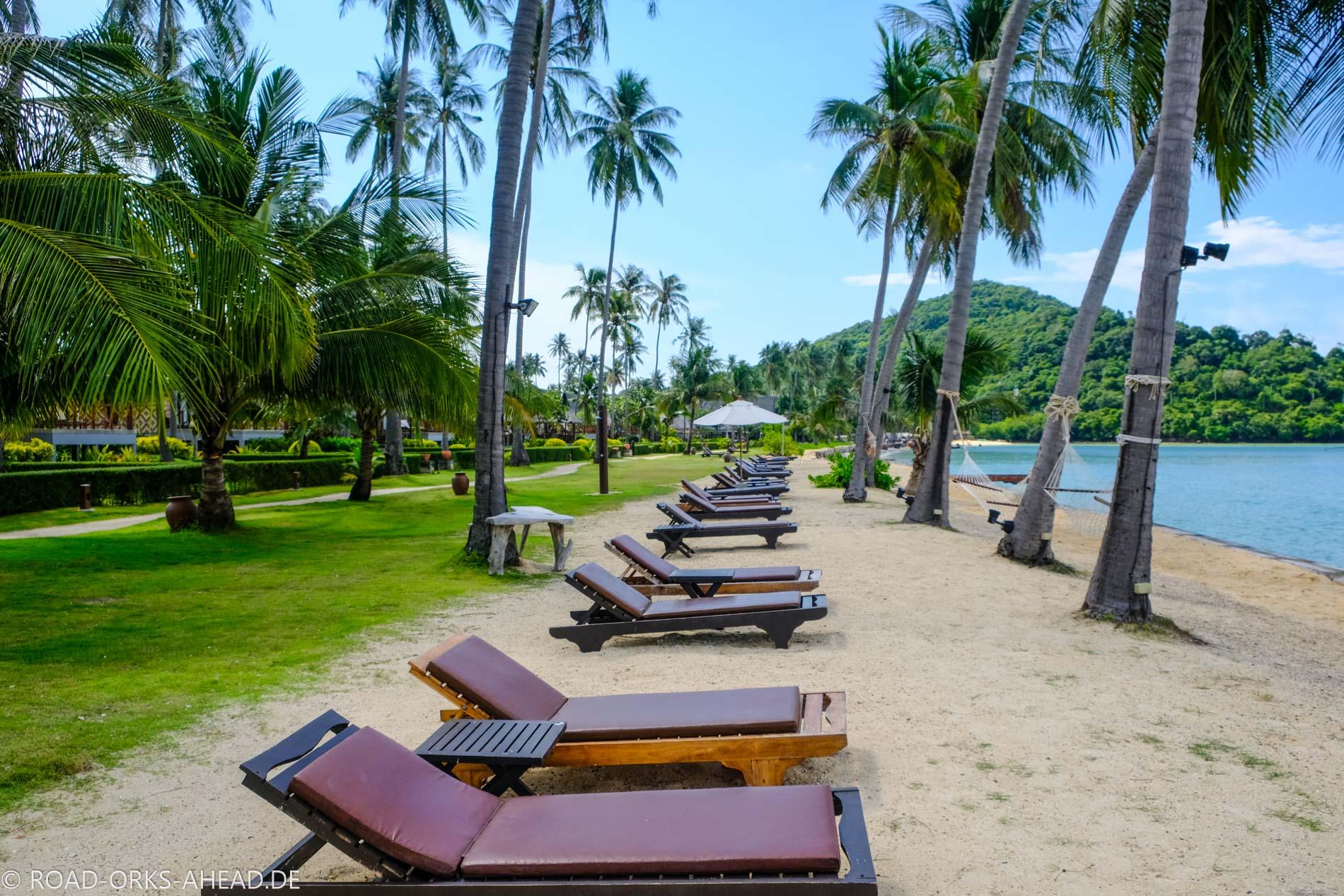 Leeres Resort zur freien Verfügung