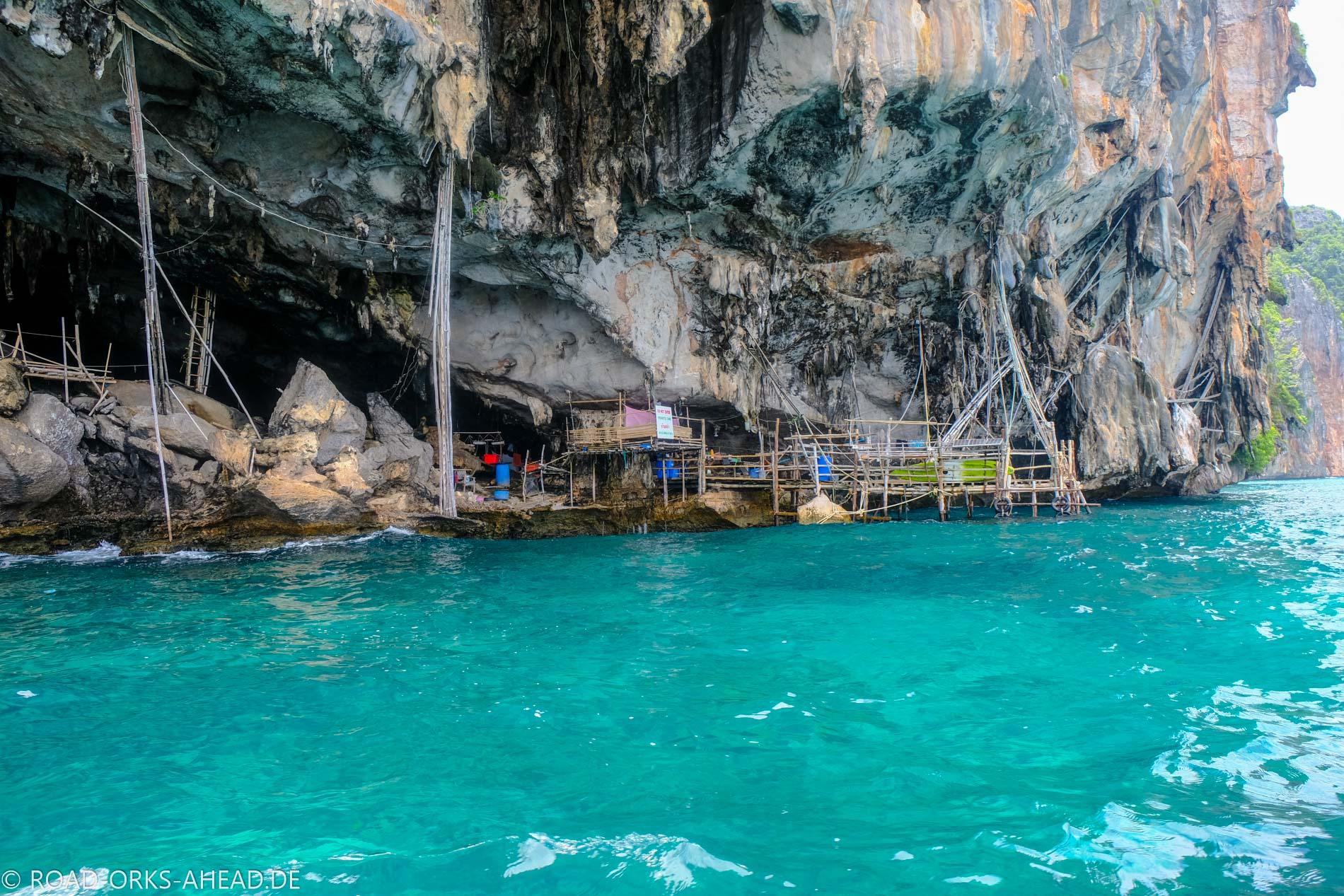 Viking Cave - Ko Phi Phi Leh (bewohnt)